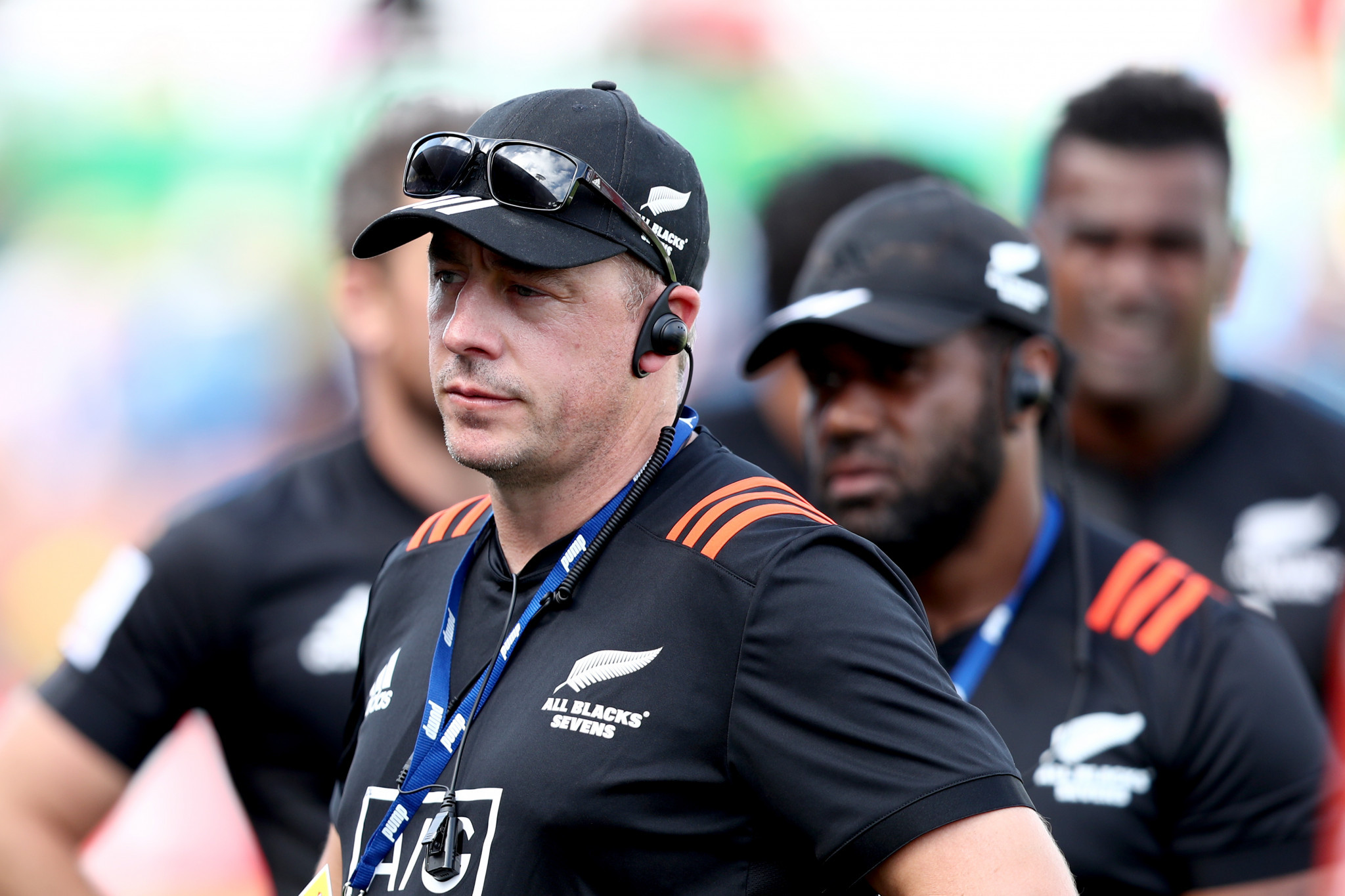 New Zealand rugby sevens coach Clark Laidlaw  is hopeful of having the same Super Rugby players available for Tokyo 2020, despite the Olympics' postponement ©Getty Images