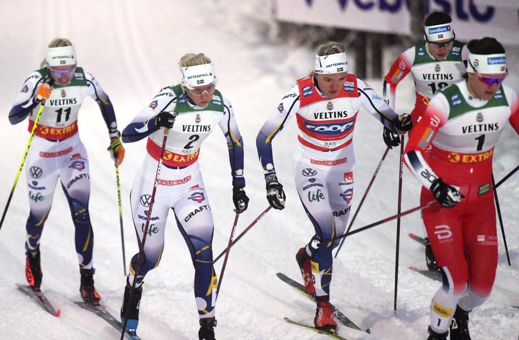 Sprinter Svahn secures second straight win at Tour de Ski