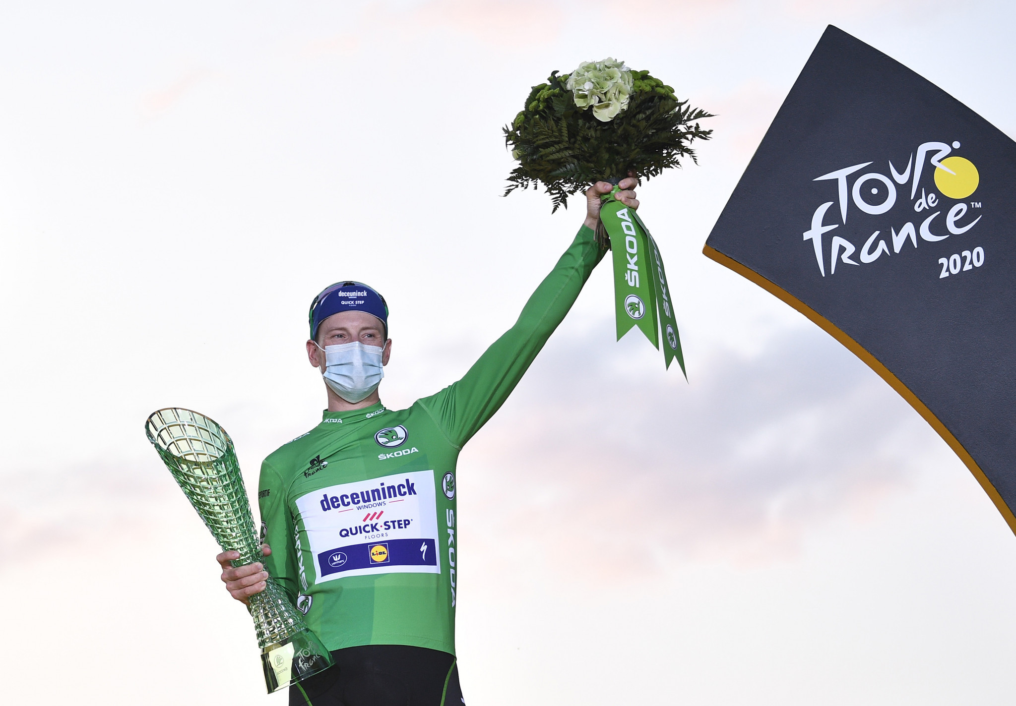 Sam Bennett won the points classification at the 2020 Tour de France ©Getty Images