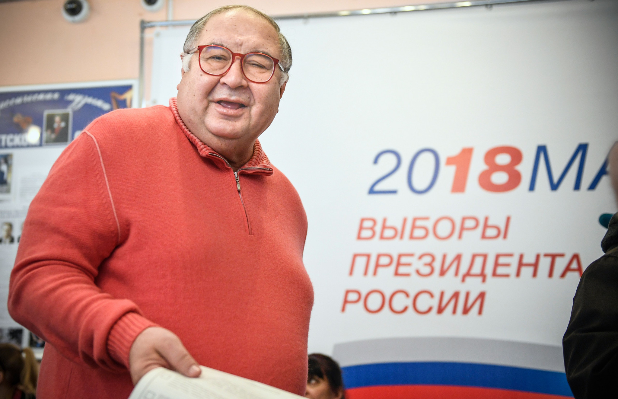 FIE President Alisher Usmanov is also Russian ©Getty Images