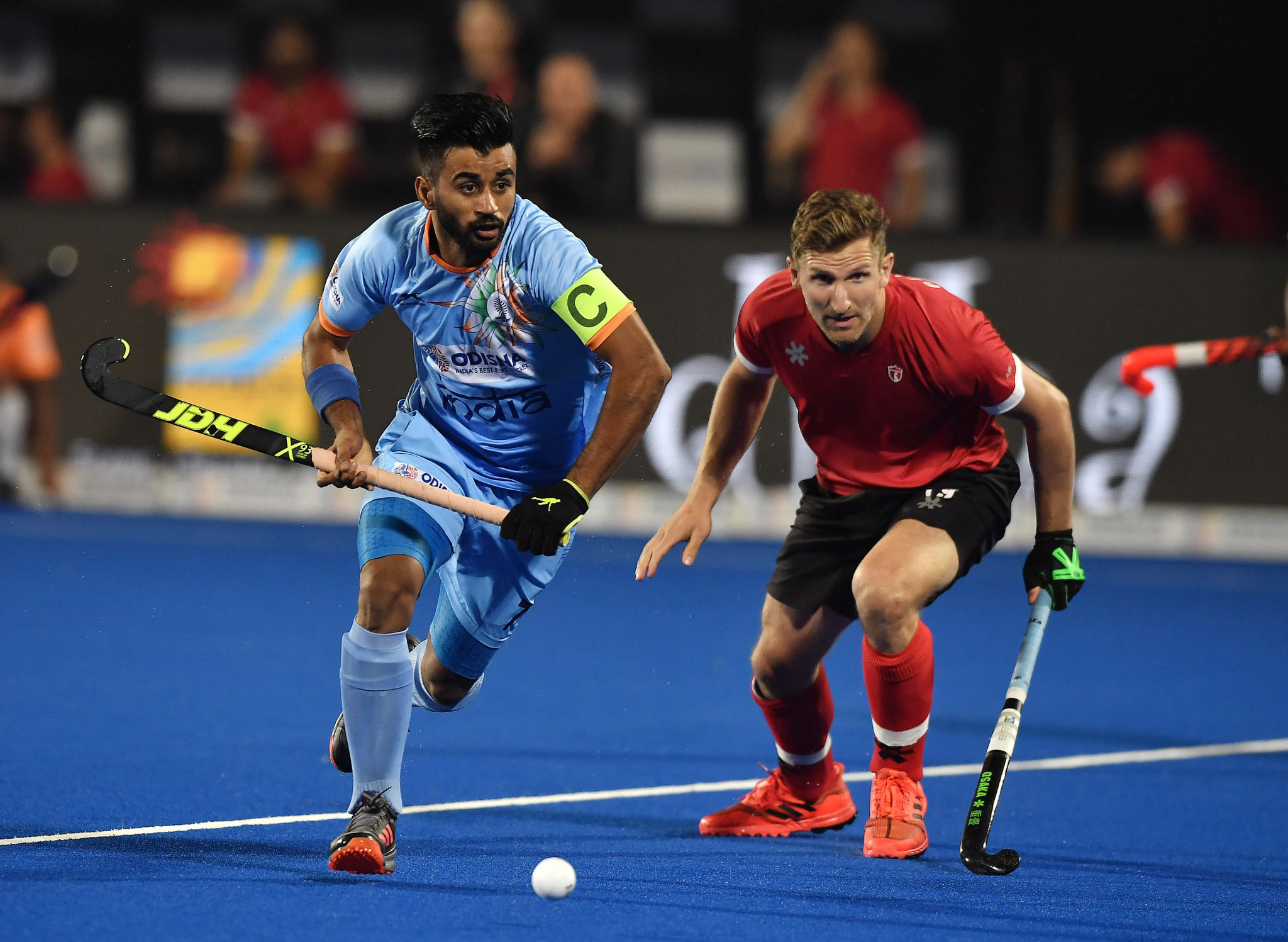 Captain Manpreet Singh is part of a 33-player squad that is expected to return to training tomorrow ©Getty Images