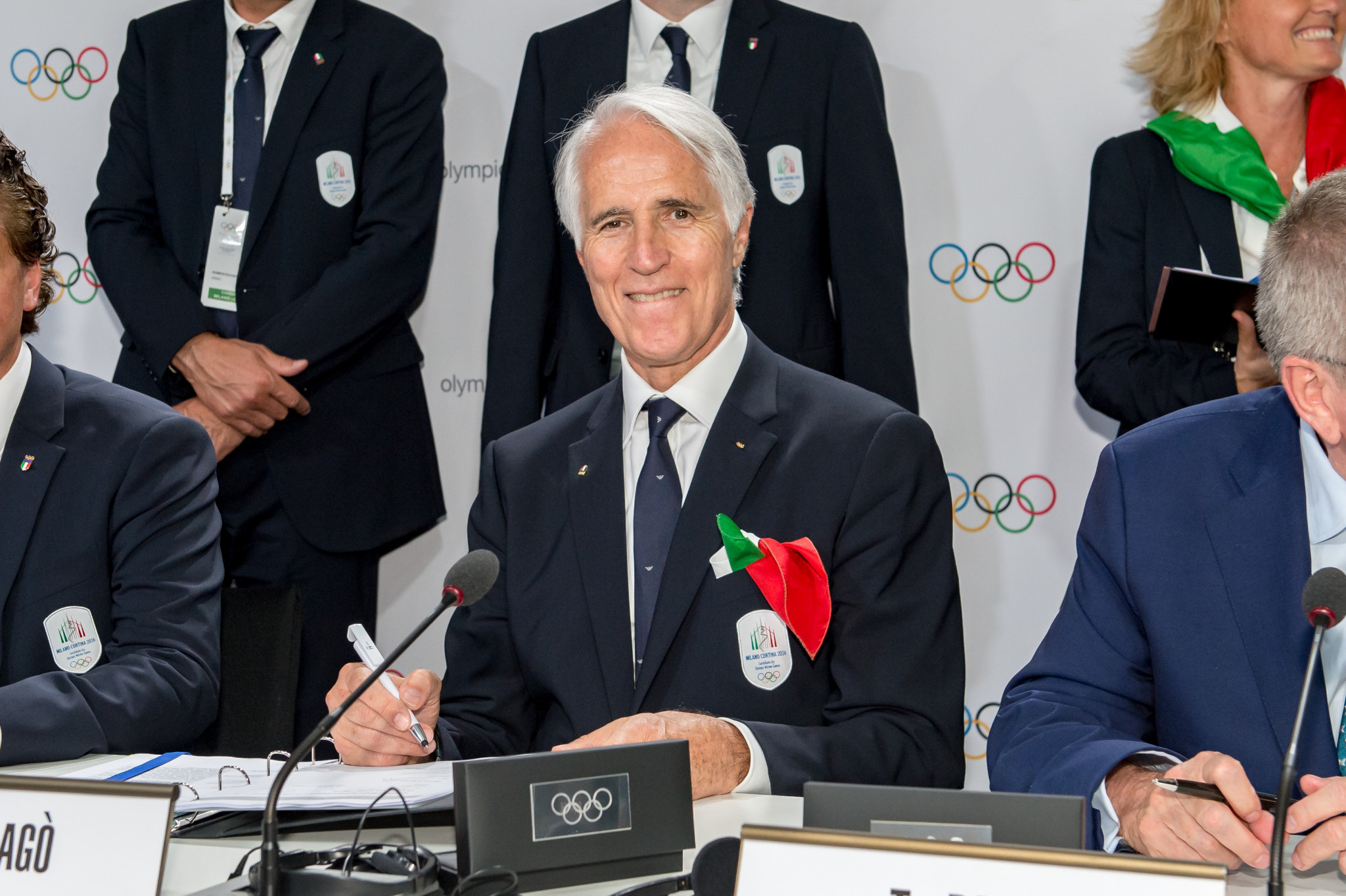 """CONI President Malagò warns risk of Italian flag and anthem ban at Tokyo 2020 is """"very high"""""""