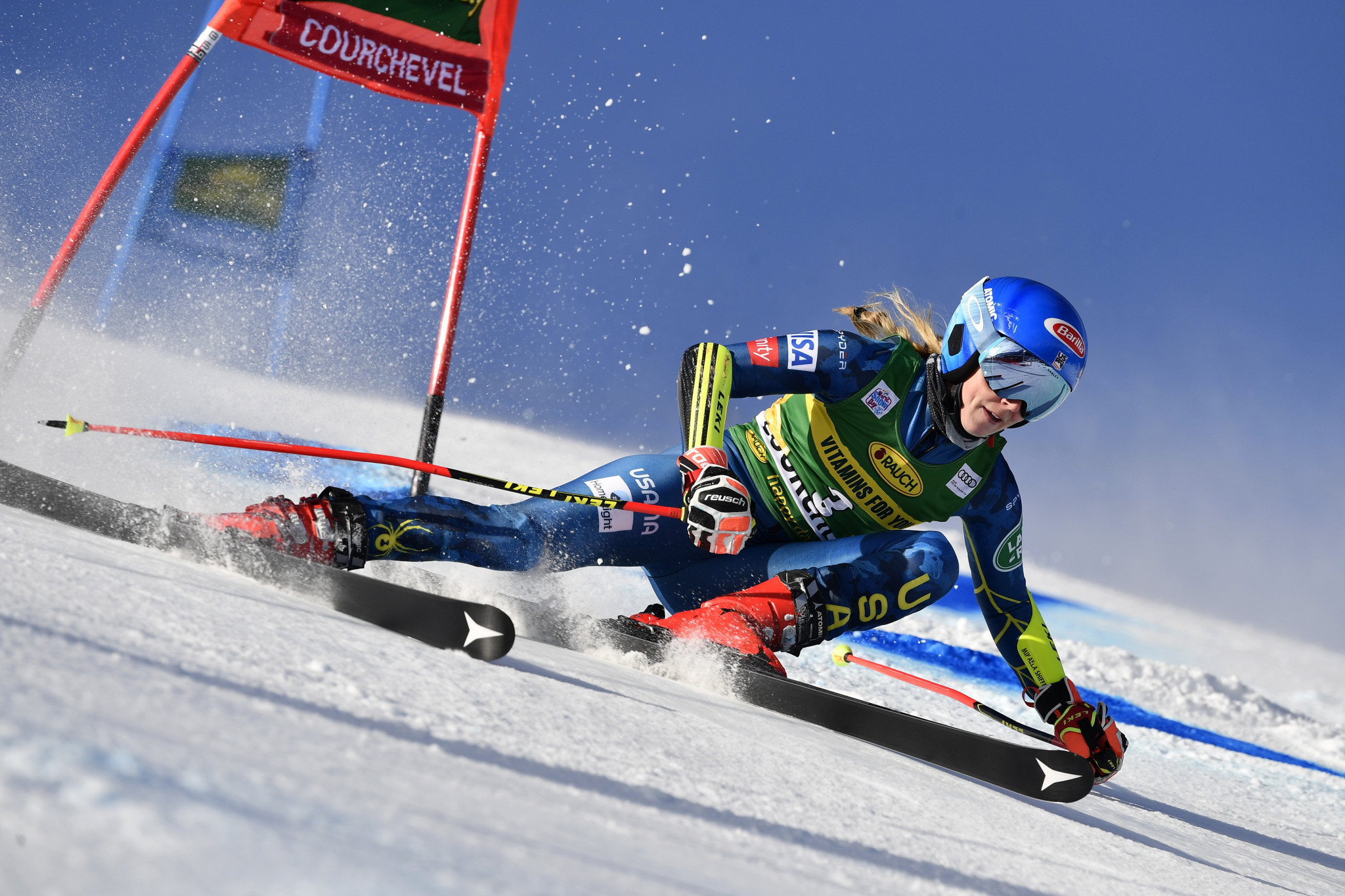 """Mikaela Shiffrin revealed """"it's not a certainty"""" that she will defend her super-G world title ©Getty Images"""