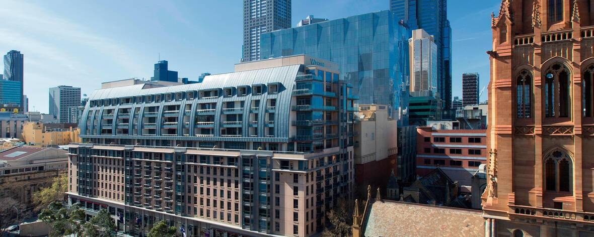 Apartment owners at the Westin Melbourne have opposed plans to quarantine Australian Open participants on the site ©Marriott Hotels