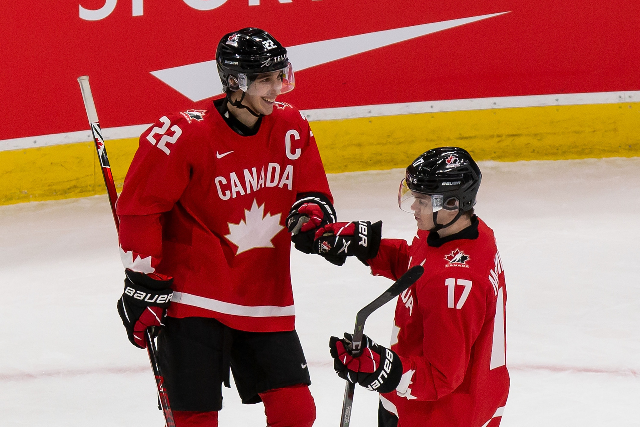 Canada reached the final of the 2021 IIHF World Junior Championship ©Getty Images