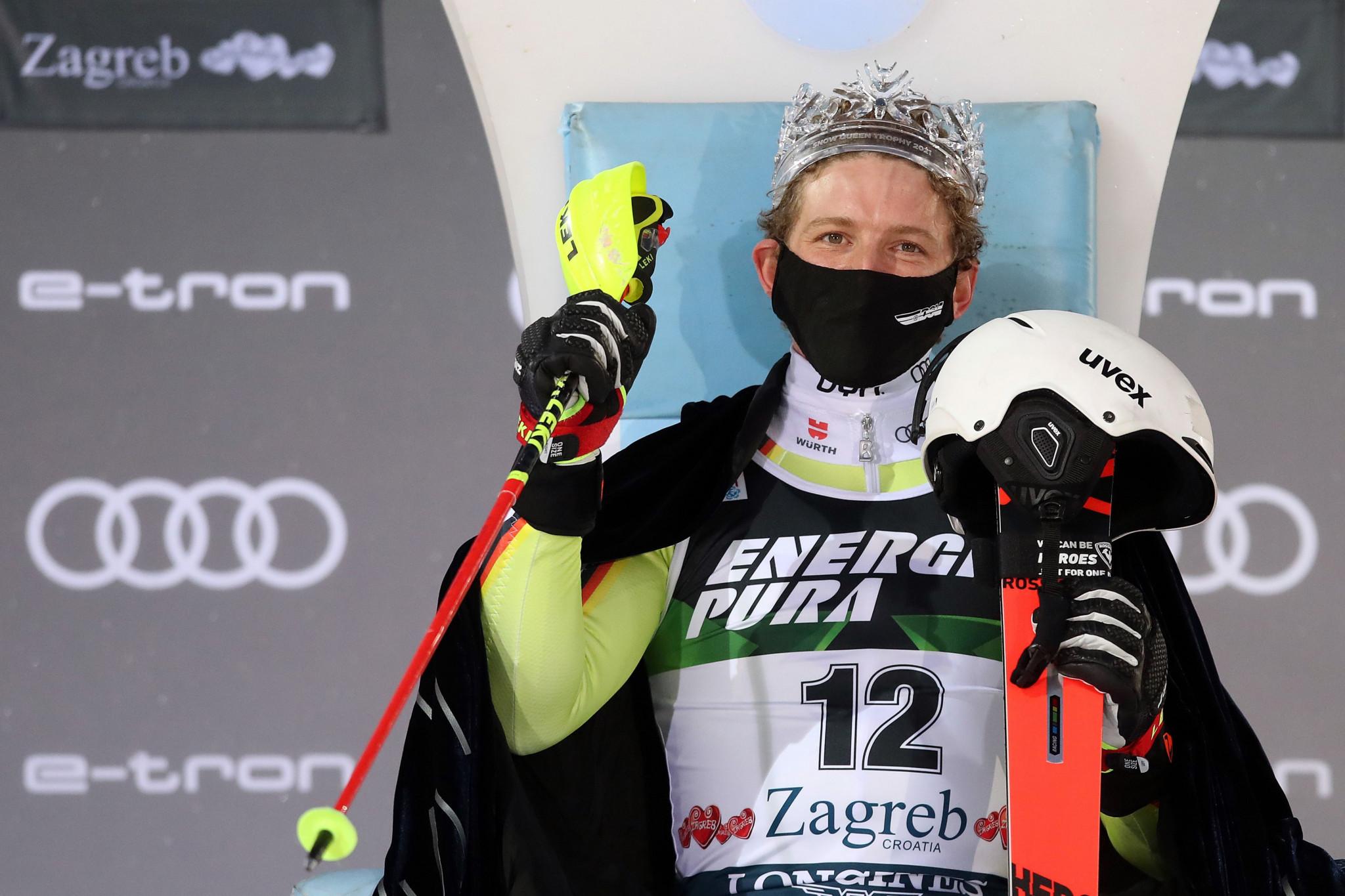 Strasser earns surprise win at FIS Alpine Ski World Cup in Zagreb