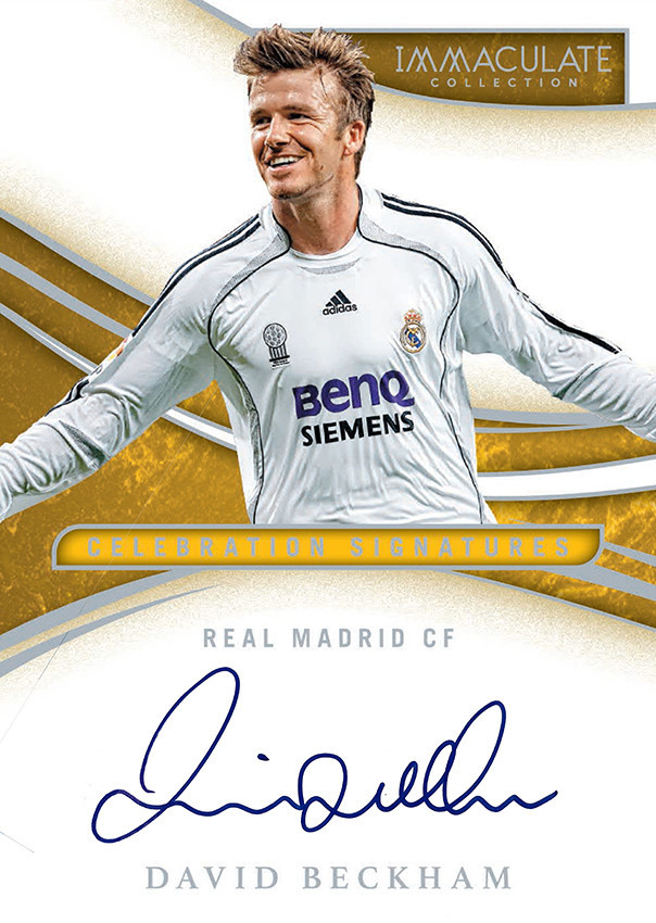 David Beckham signs exclusive autograph and memorabilia deal with Panini America