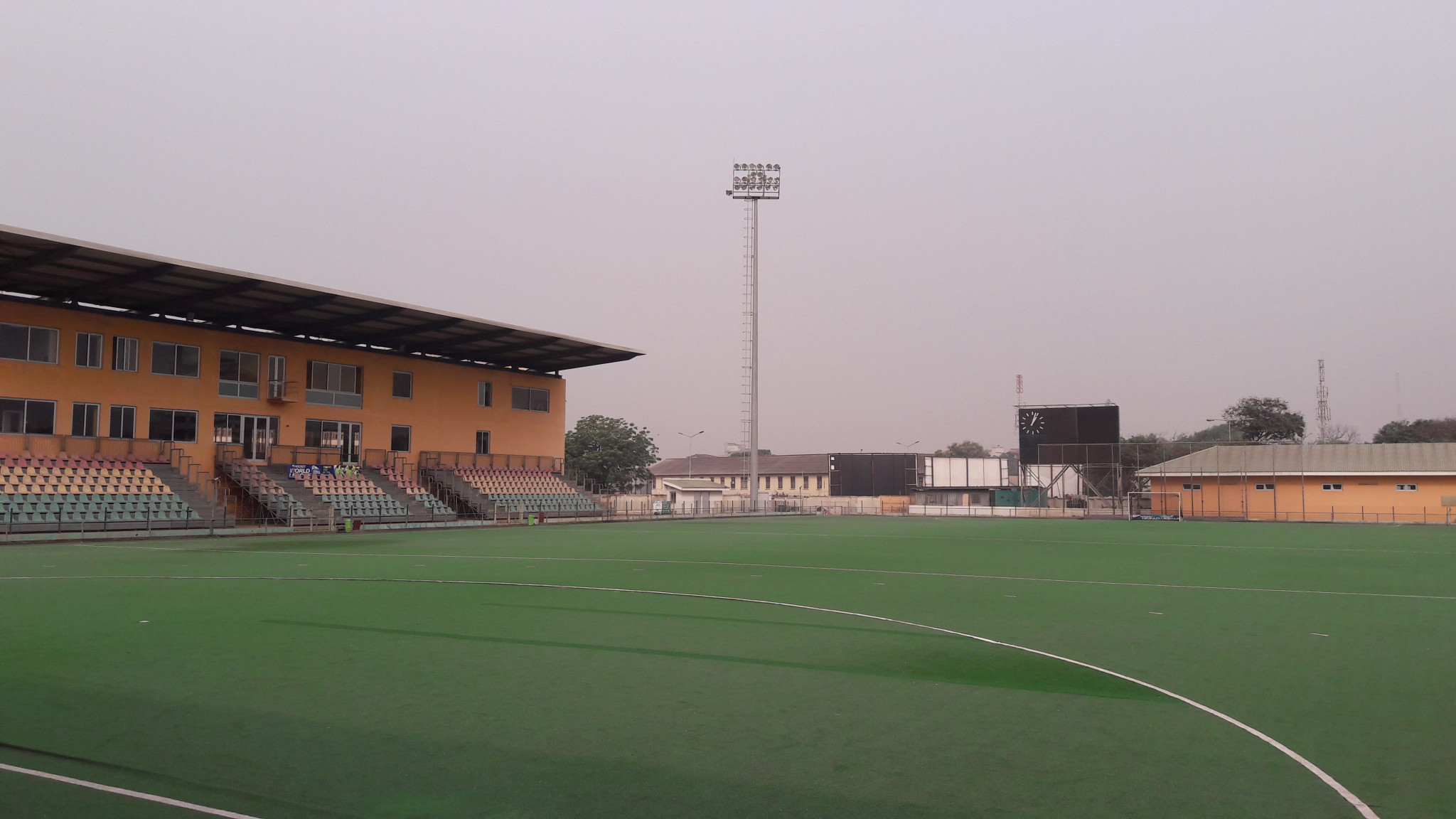 The Theodosia Okoh National Hockey Stadium is to be upgraded in time for the 2023 African Games in Ghana ©GHA