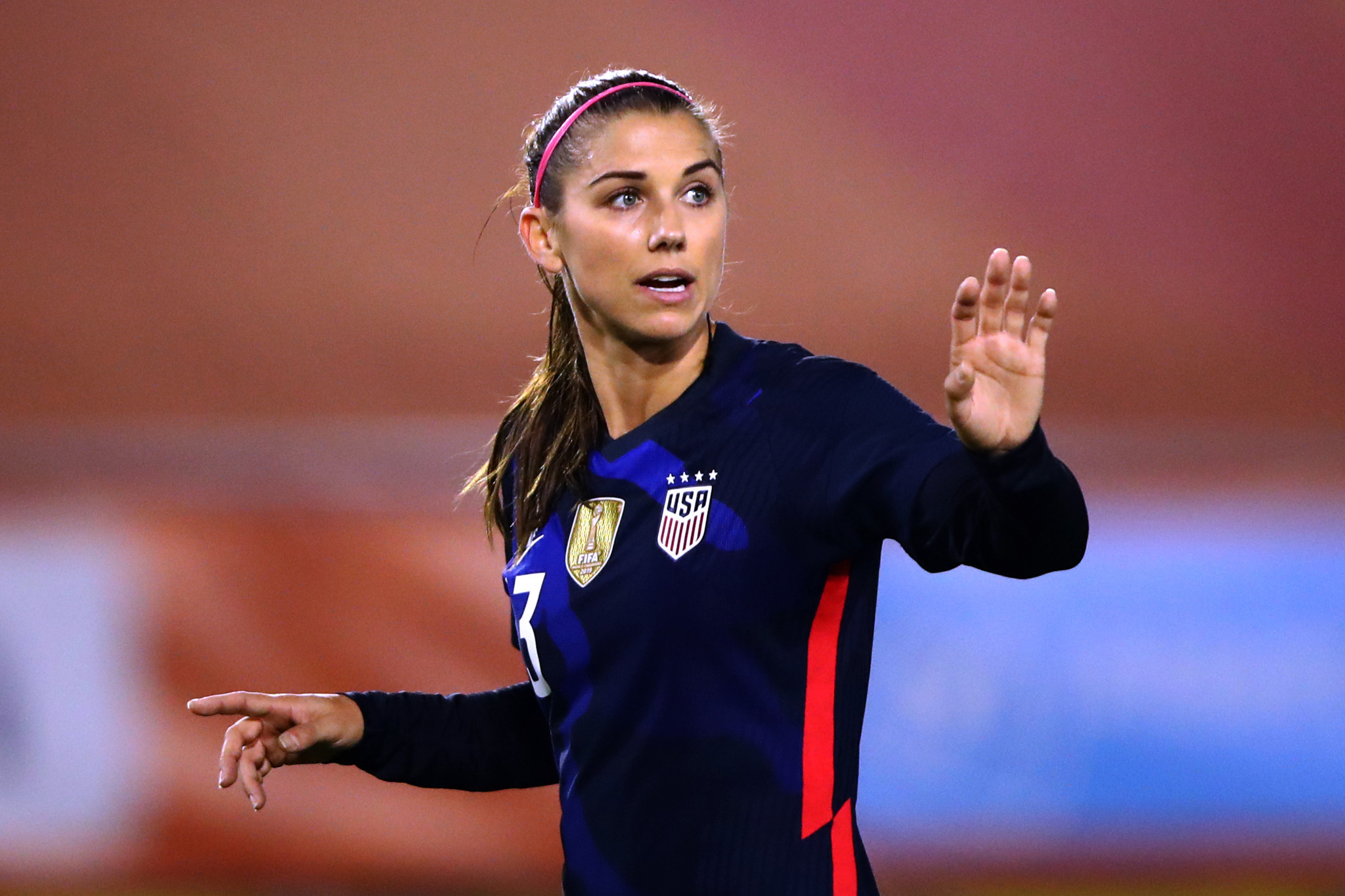 Alex Morgan tested positive for coronavirus over the Christmas holidays ©Getty Images