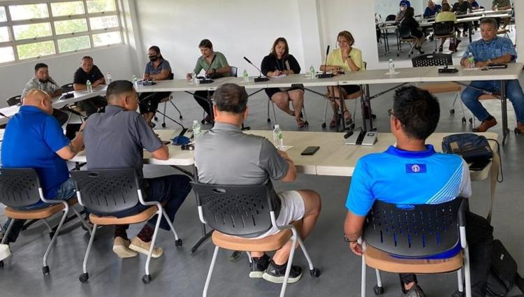 CNMI Pacific Mini Games Organising Committee begin preparations for 2022