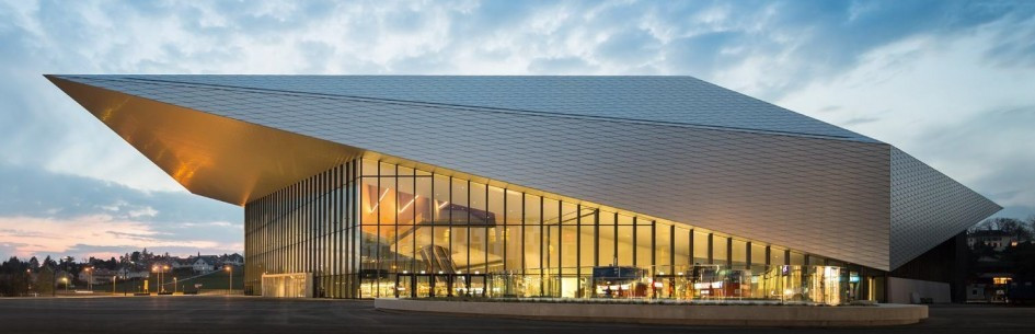 The SwissTech Convention Center in Lausanne is set to host this year's Sport Accord Convention from April 17 to 22