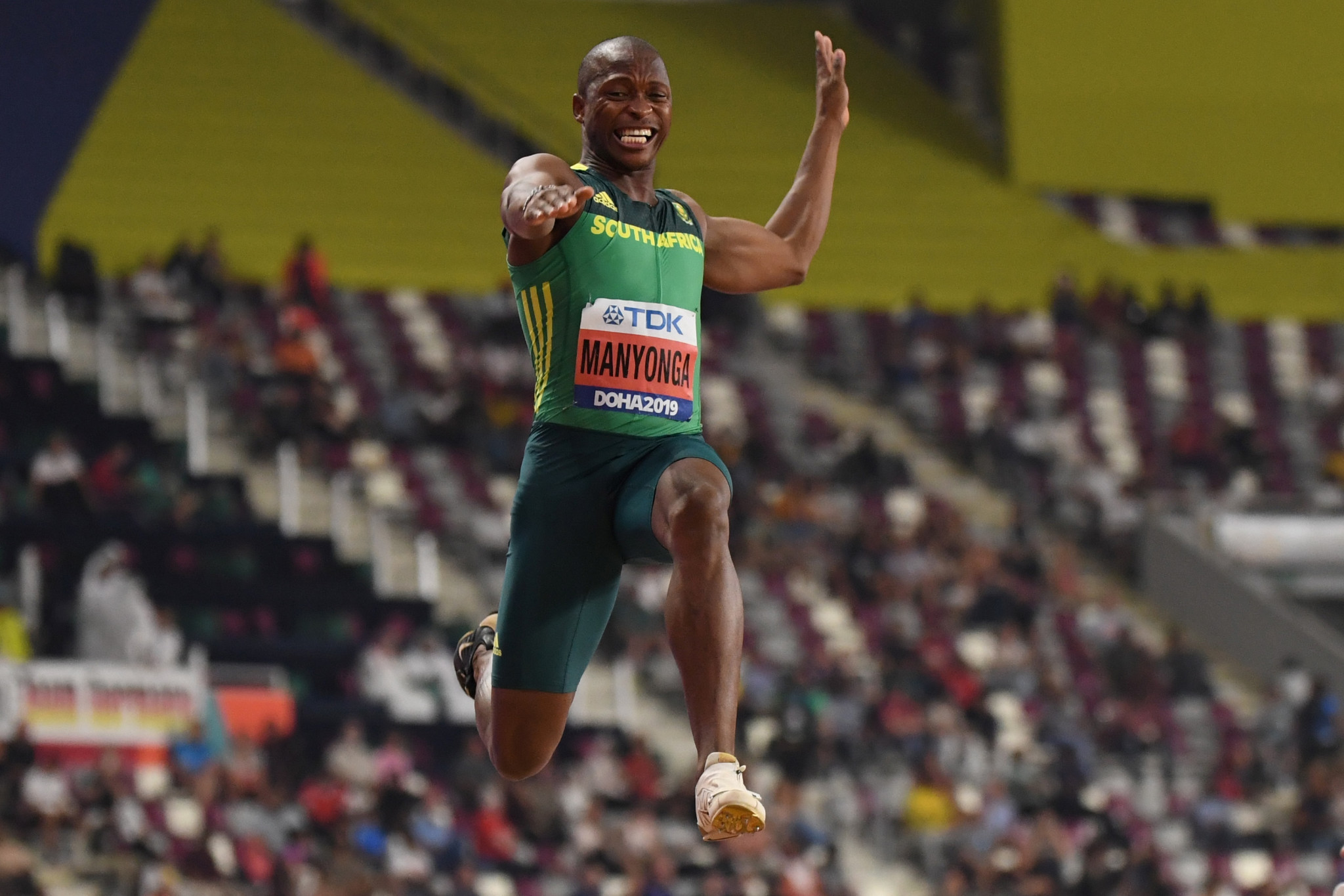 South African Olympic long jump silver medallist provisionally suspended for whereabouts failure