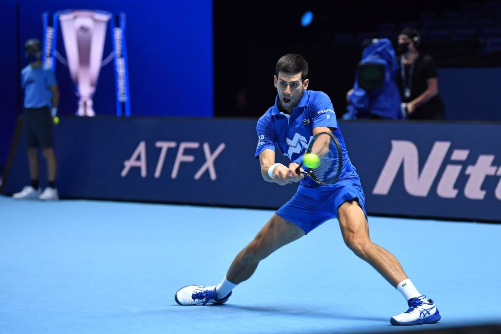 Novak Djokovic is among the players who will quarantine in Adelaide prior to the Australian Open ©Getty Images