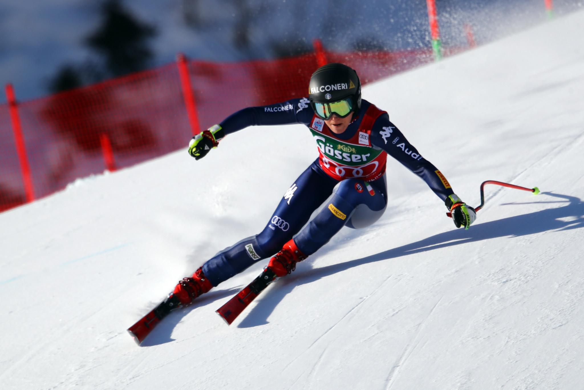 Goggia wins in St Anton to take sole possession of World Cup downhill lead