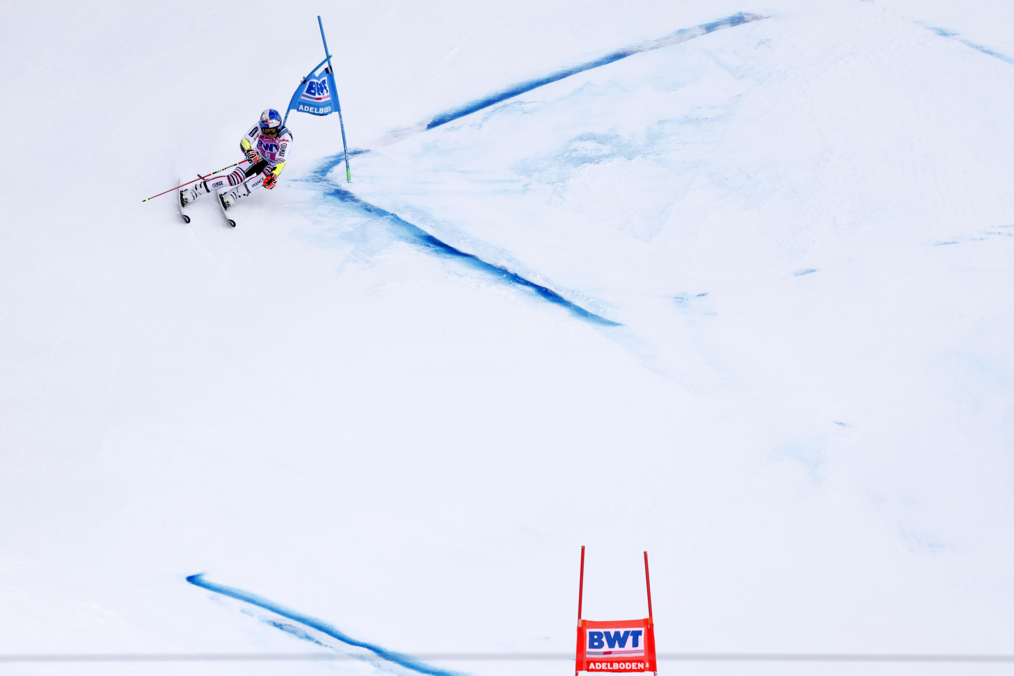 Pinturault triumphs again in Adelboden as Ford hospitalised following crash