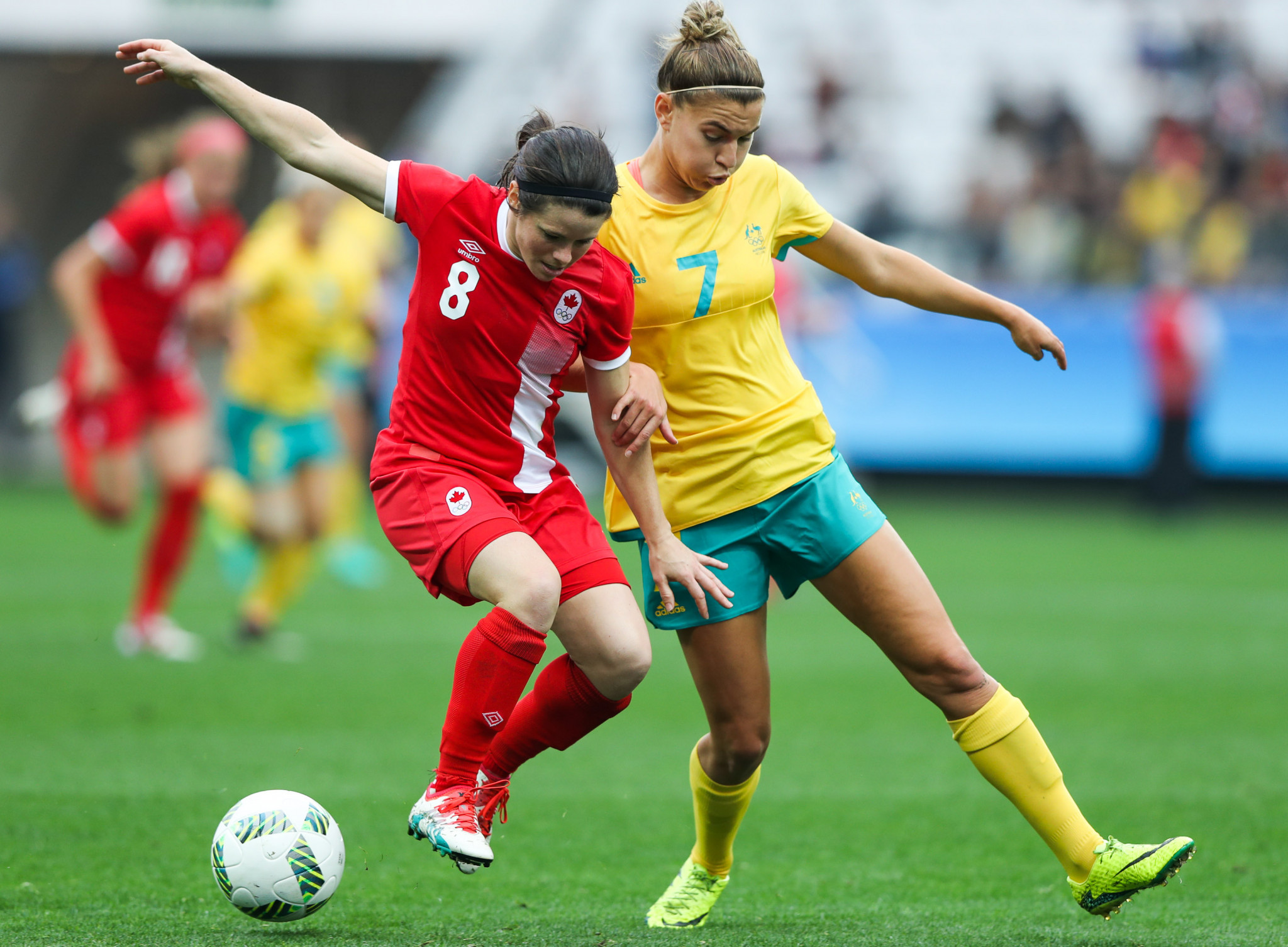 Steph Catley played for Australia at the Rio 2016 Olympic Games ©Getty Images