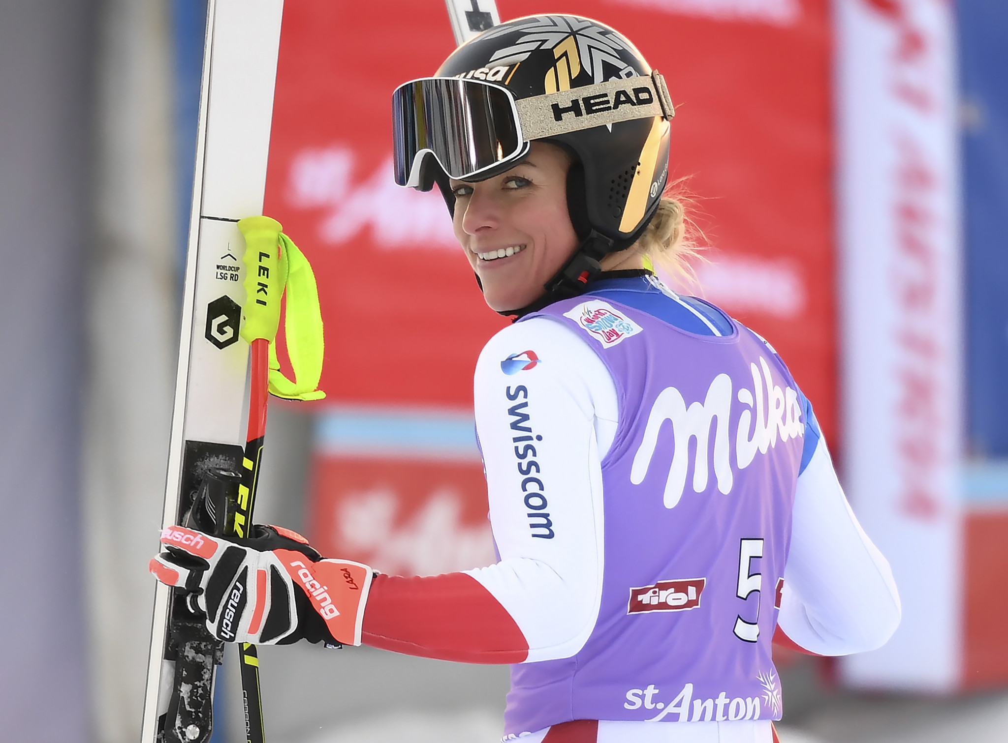Gut-Behrami tops FIS Alpine Ski World Cup super-G standings after St Anton win