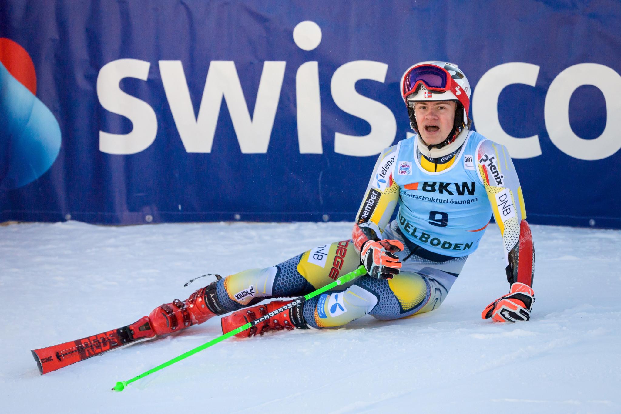 Braathen to miss remainder of FIS Alpine World Cup season with knee injury