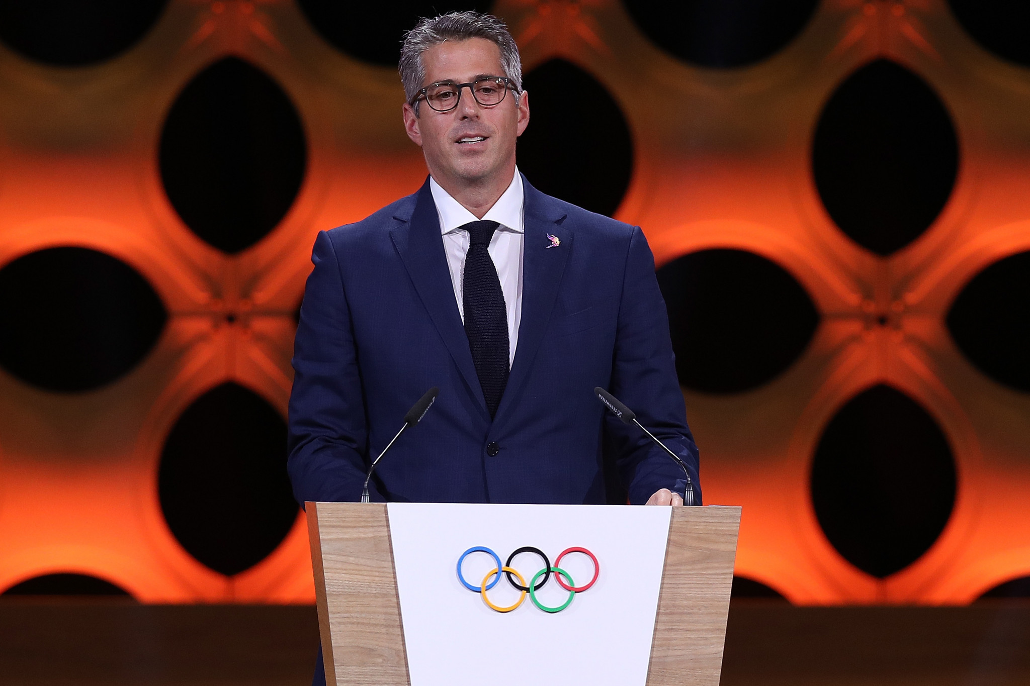 Casey Wasserman is considering entering the race to become Governor of California after Los Angeles 2028 ©Getty Images