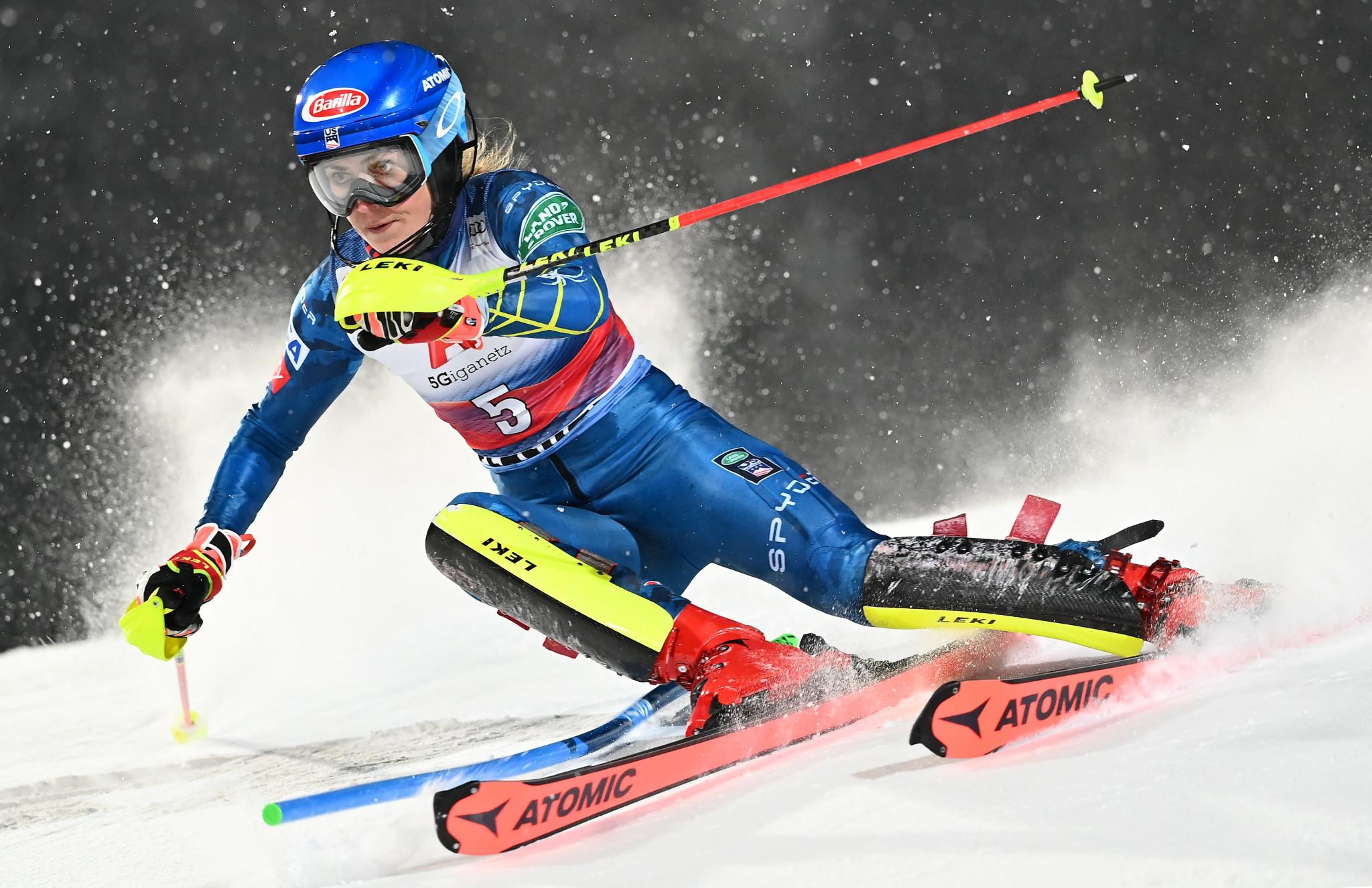 Shriffin wins Flachau World Cup slalom as familiar faces occupy top five