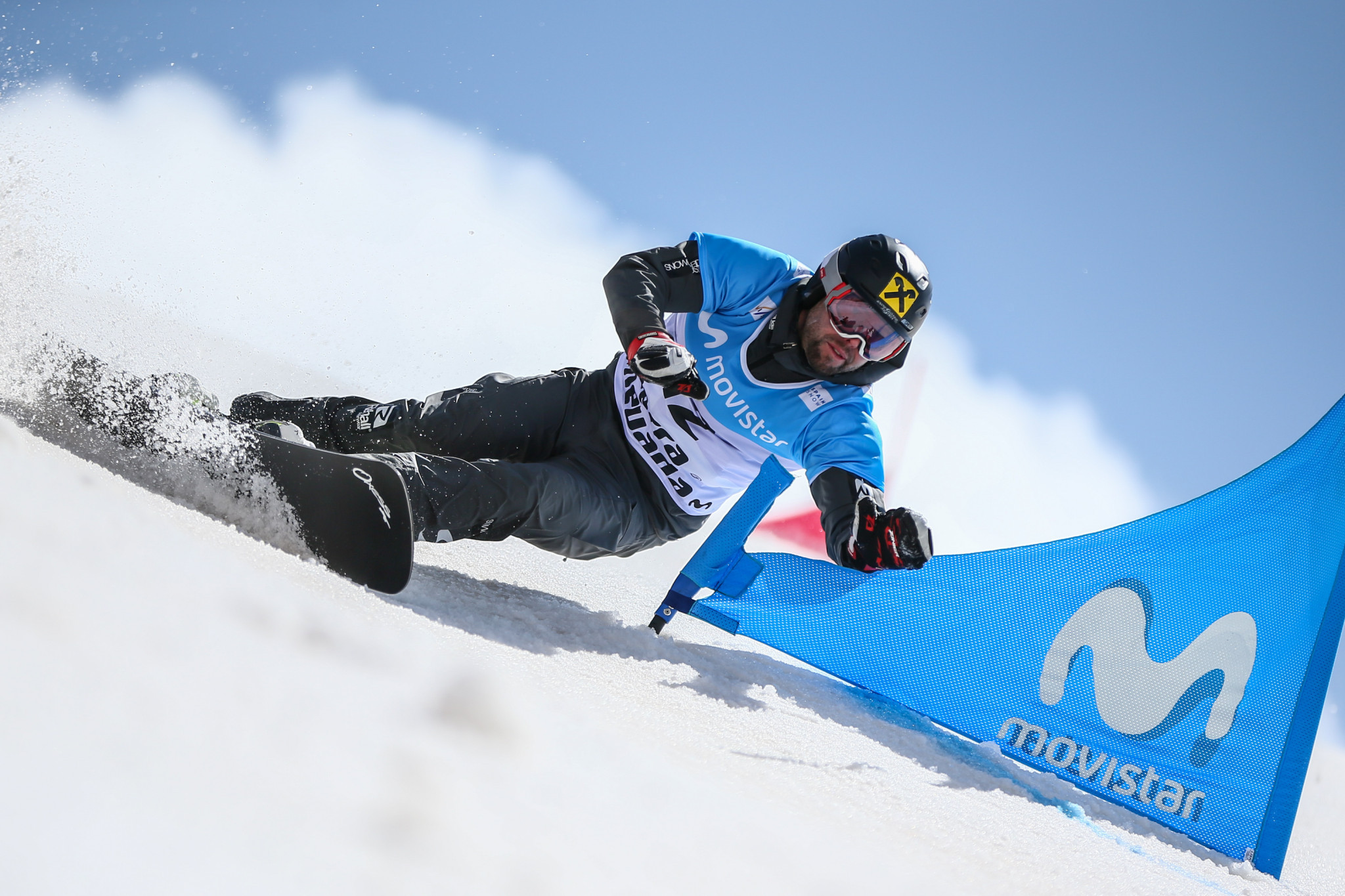 Prommegger and Riegler win team mixed parallel slalom Snowboard World Cup race for Austria