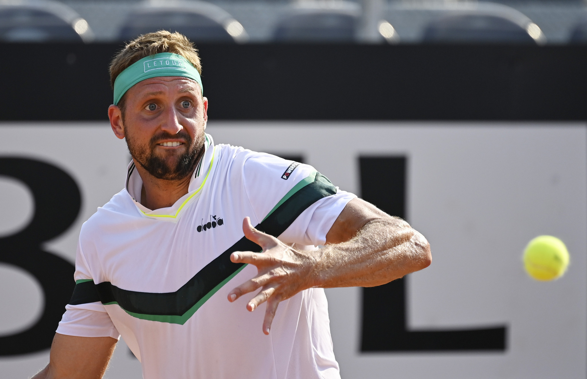 Tennys Sandgren has flown to Australia after being cleared by authorities ©Getty Images