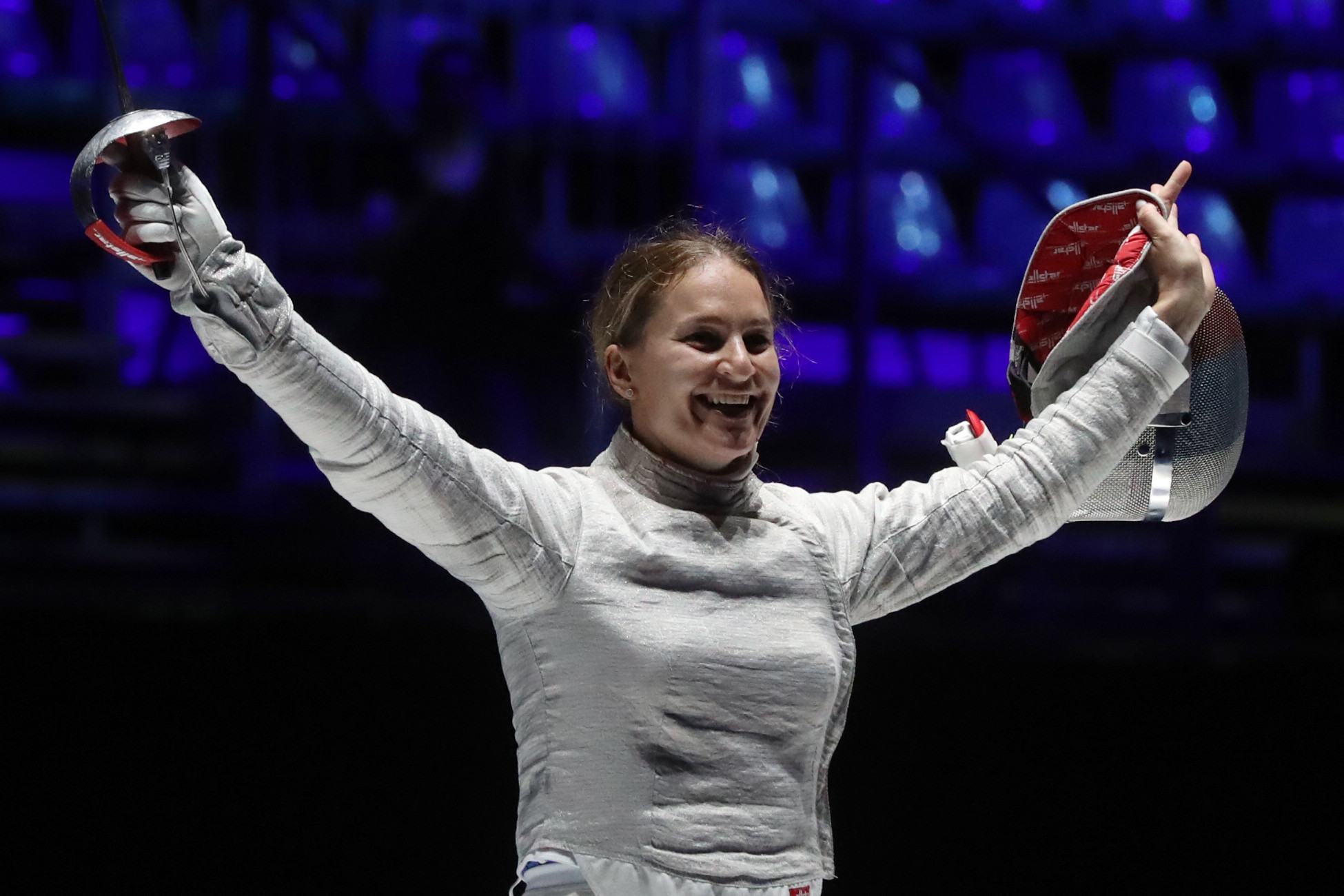 Sophia Velikaya confirmed the proposal of the ROC Athletes' Commission ©Getty Images