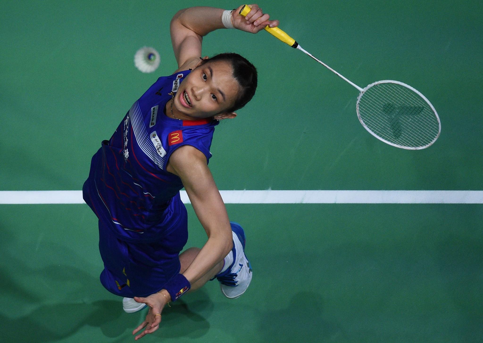 Tai advances to women's singles final at BWF Yonex Thailand Open
