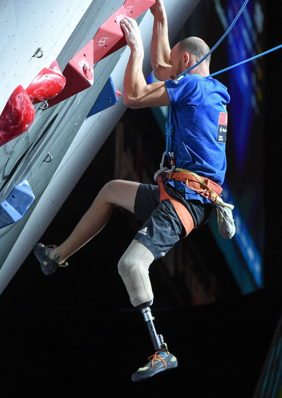 The International Federation of Sport Climbing is aiming to get Paraclimbing included at the Los Angeles 2028 Paralympics ©Getty Images