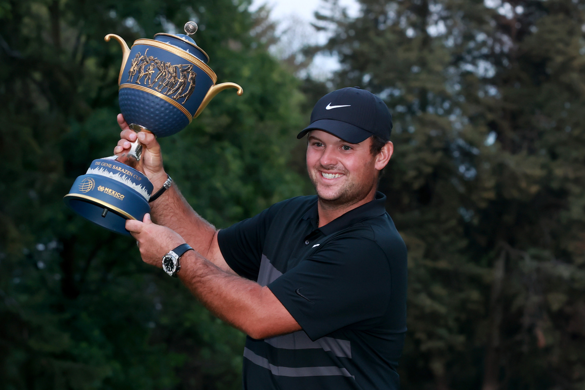 Patrick Reed saw off the challenge of Justin Thomas to win last year's WGC-Mexico Championship ©Getty Images