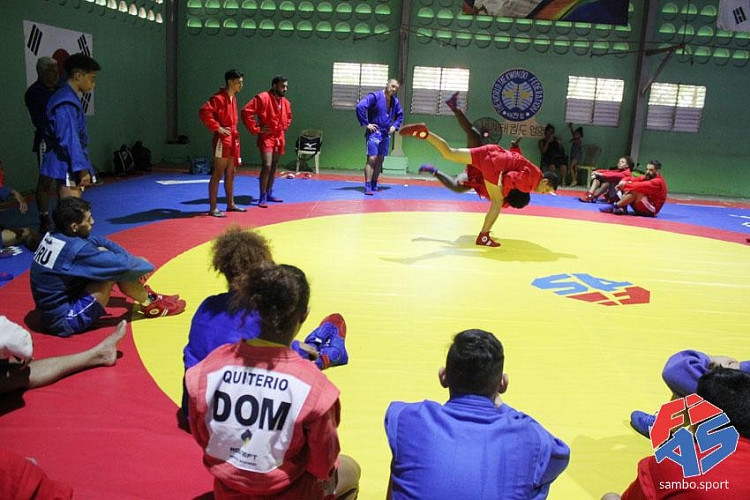 Sambo has applied to join the International World Games Association, along with wushu ©FIAS