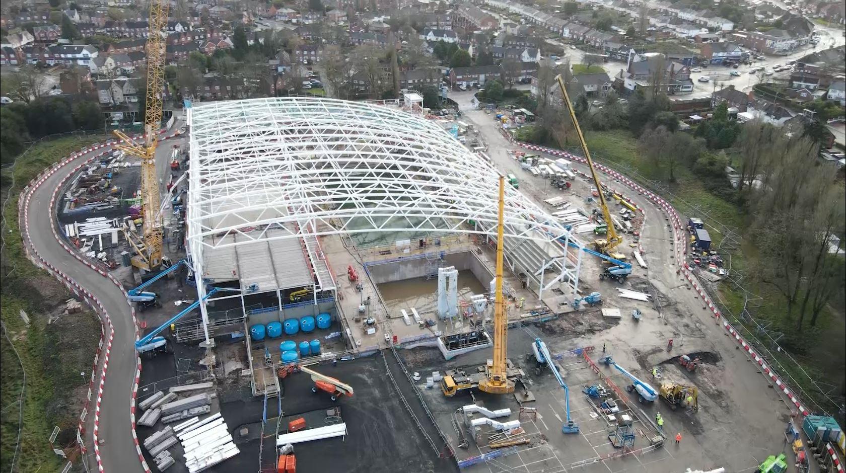 "Peaty views Birmingham 2022 Aquatics Centre as ""national investment"""