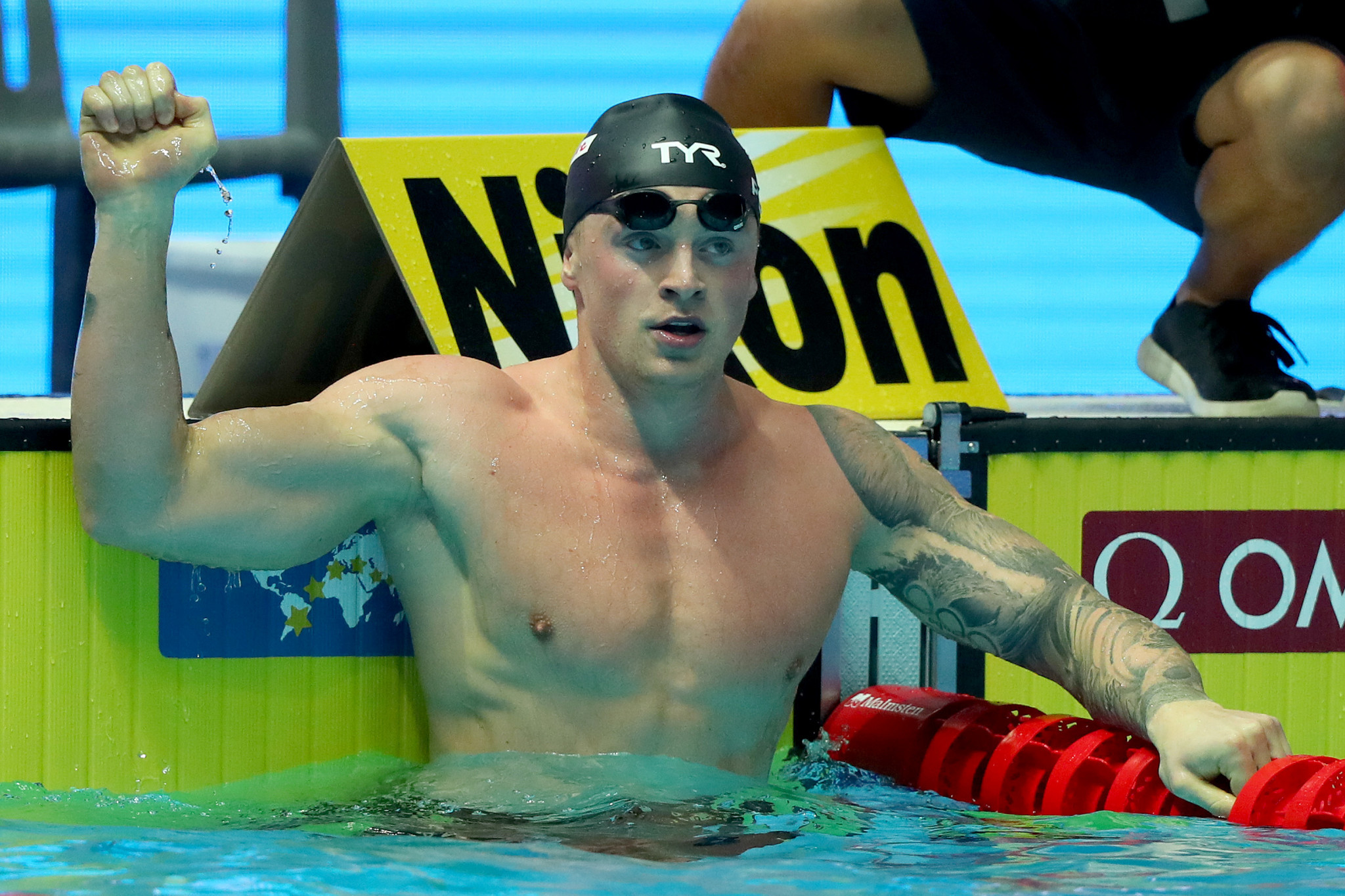 Olympic champion Adam Peaty believes the Sandwell Aquatics Centre will capture the next generation of swimmers ©Getty Images