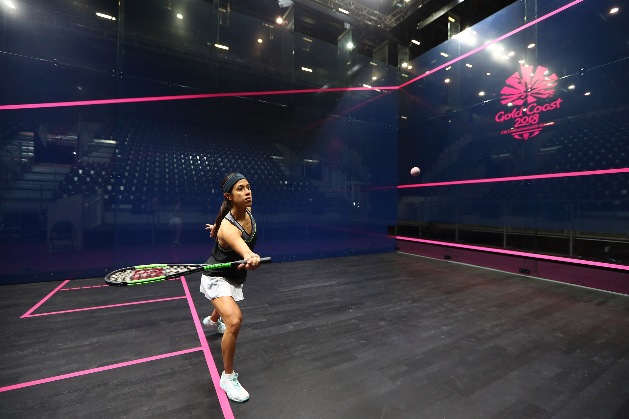 Malaysian squash star Nicole David currently holds a significant lead in the World Games Greatest Athlete of All Time vote ©Getty Images