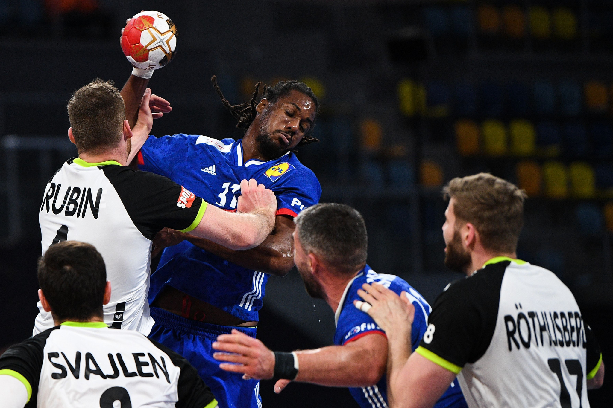 France qualified for the main round of the IHF World Men's Handball Championship after winning all three of their group matches ©Getty Images