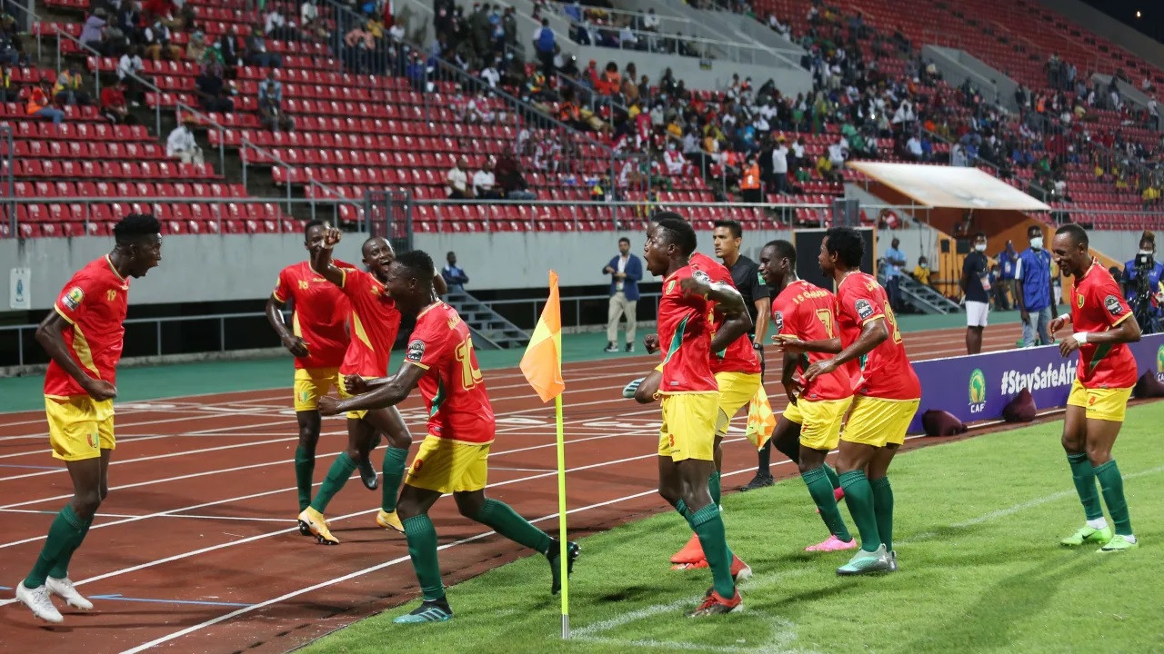 Guinea and Zambia victorious in African Nations Championship Group D