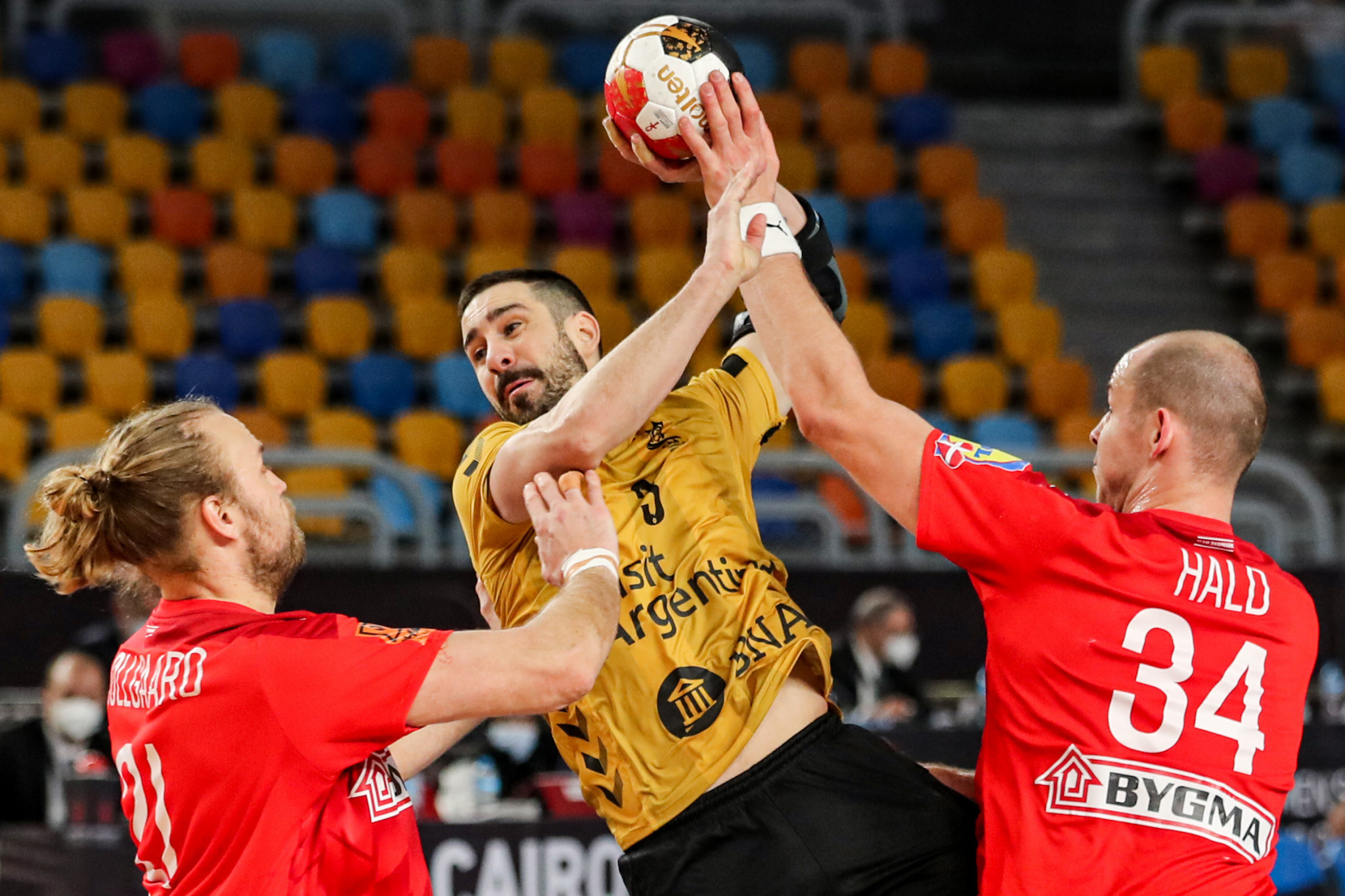 Defending champions Germany and Argentina have both advanced to the main round of the World Men's Handball Championship ©Getty Images