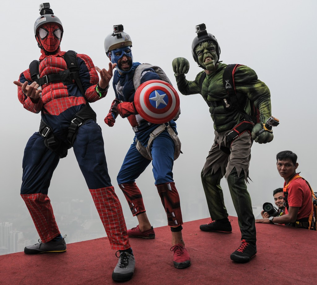 Superheroes play a big role in popular culture