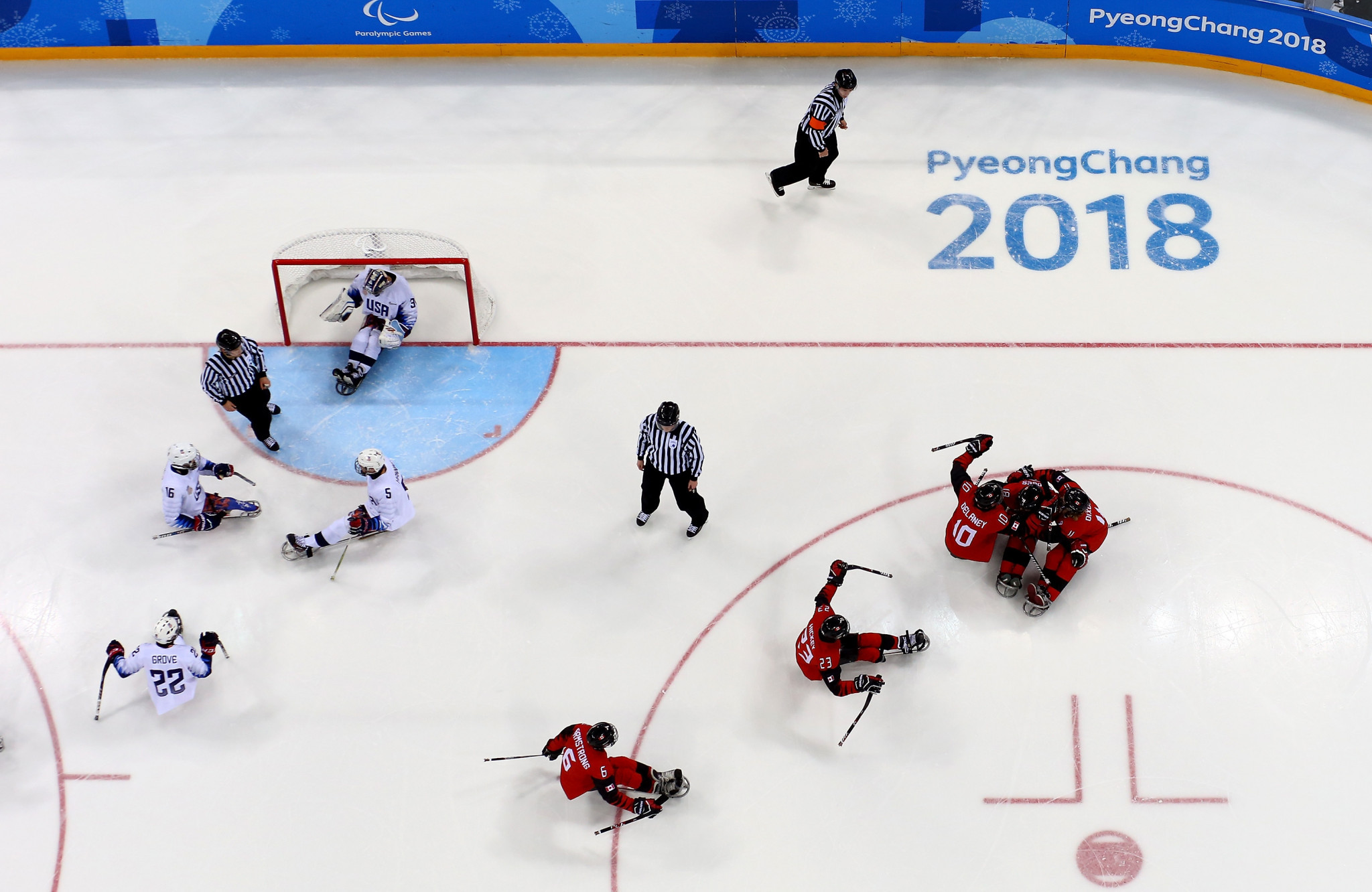 Canada lost to the United States in the 2018 Paralympic final ©Getty Images