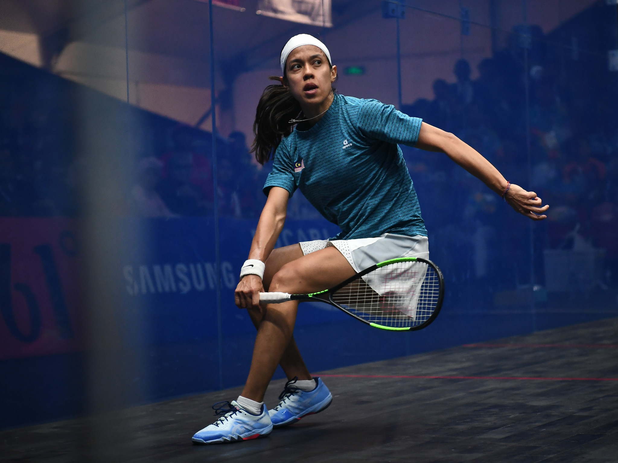 Nicol David leads the World Games Greatest Athlete of All Time voting ©Getty Images
