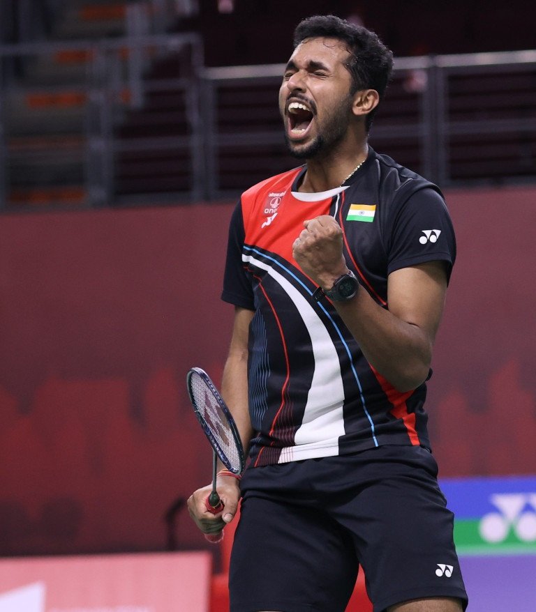 Prannoy overcomes fall to complete comeback win at BWF Toyota Thailand Open