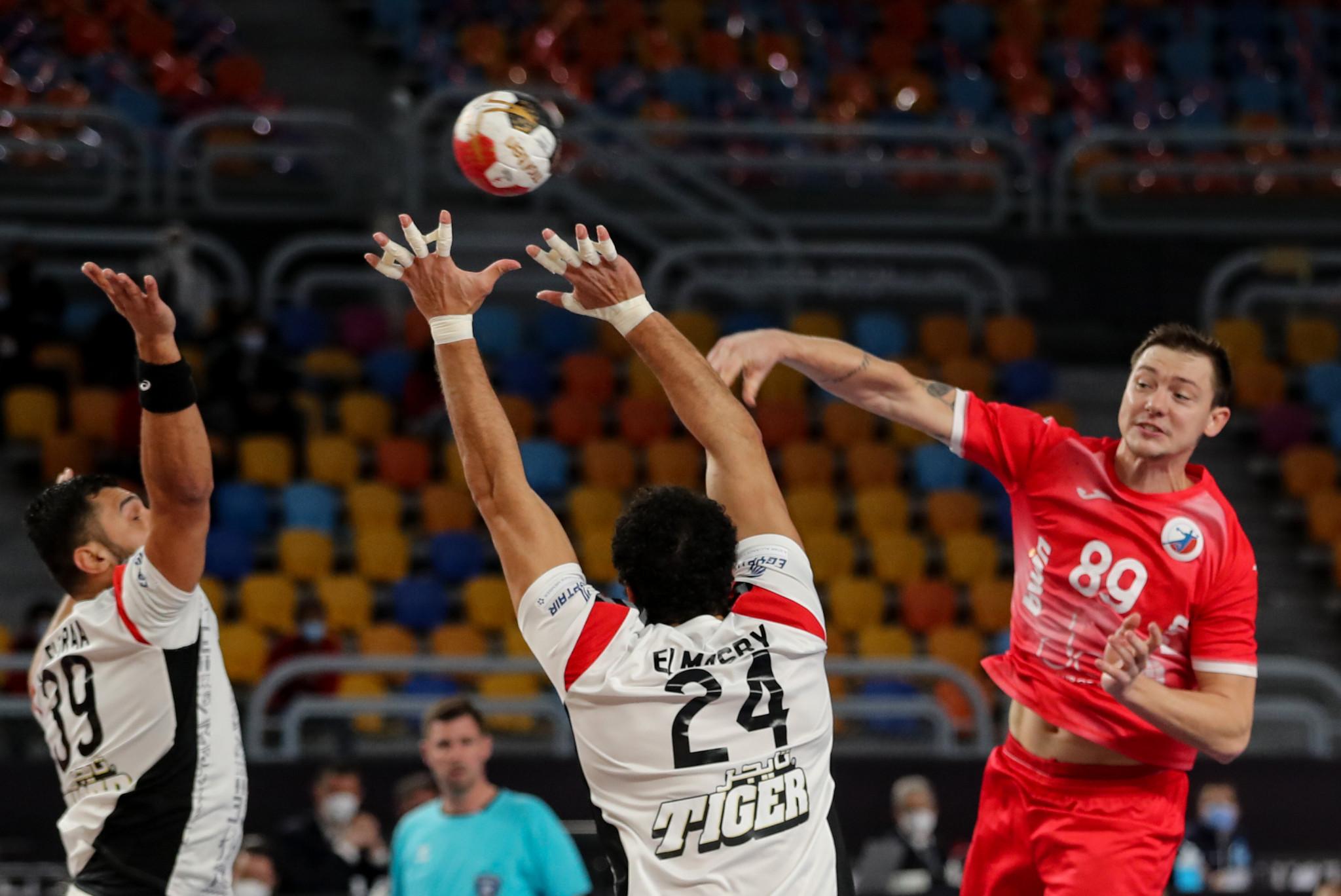 Hosts Egypt among winners as main round of World Men's Handball Championship begins