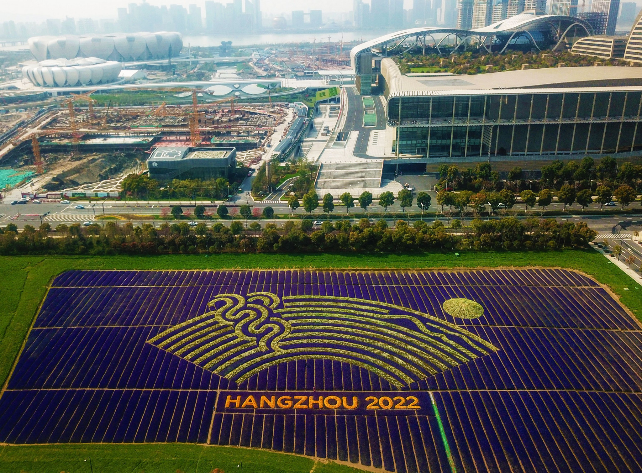 Hangzhou 2022 confident venue construction will be complete by March