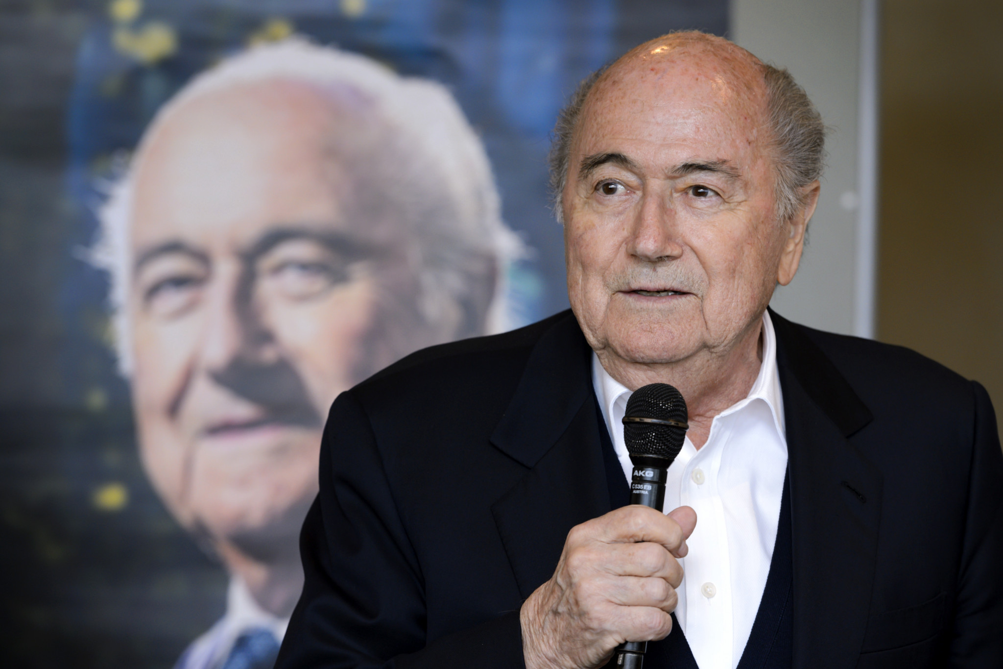 Former FIFA President Sepp Blatter is recovering in hospital following heart surgery ©Getty Images
