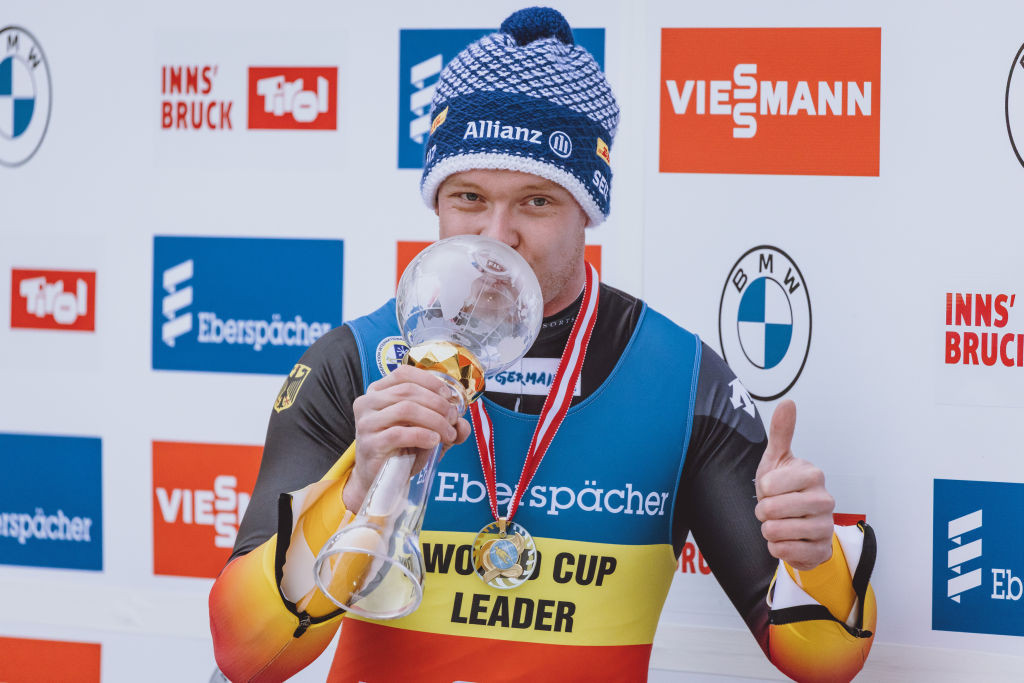Loch wins ninth race of season to wrap up overall Luge World Cup title