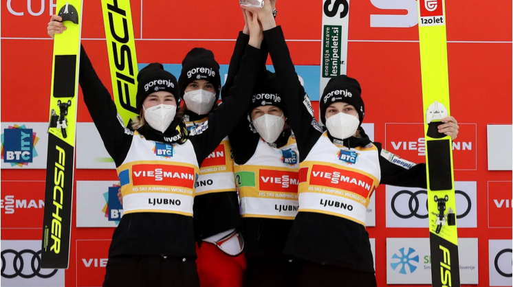 Slovenia earn home victory at FIS Ski Jumping World Cup in Ljubno