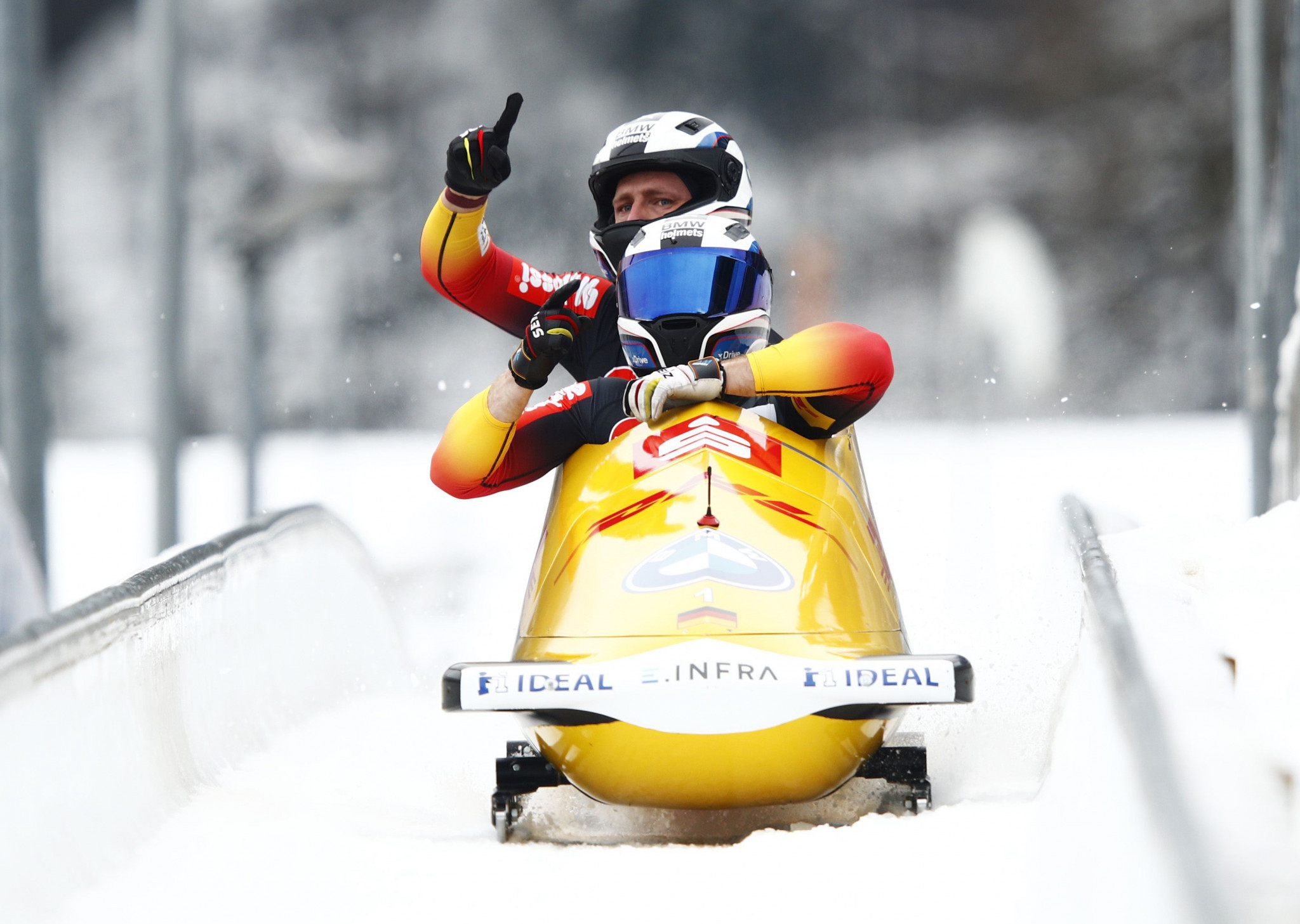 Friedrich on brink of fourth two-man bobsleigh World Cup title after Königssee success