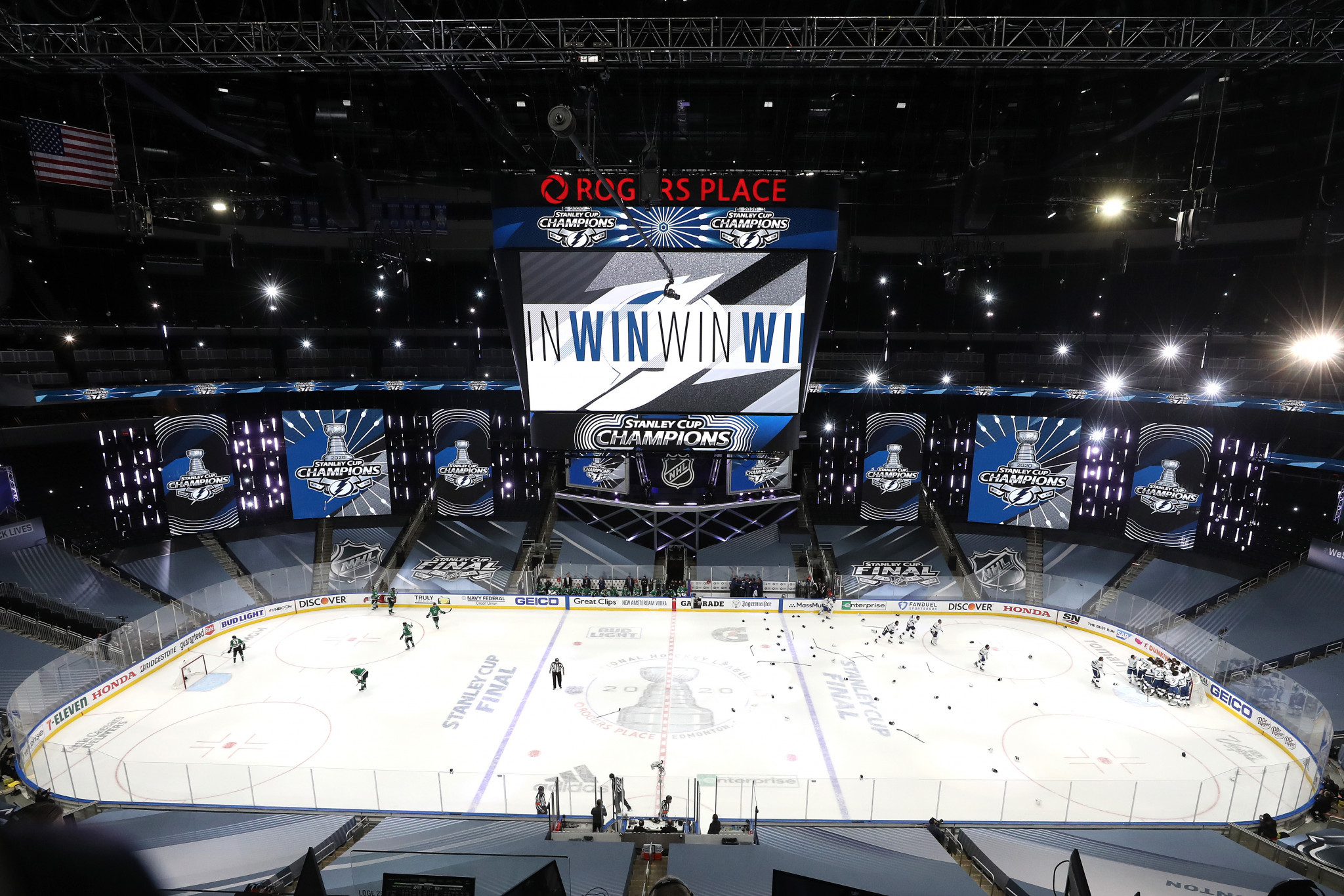 The IIHF World Junior Championships was the second major ice hockey event Edmonton had staged using the bubble format having also hosted last year's Stanley Cup ©Getty Images