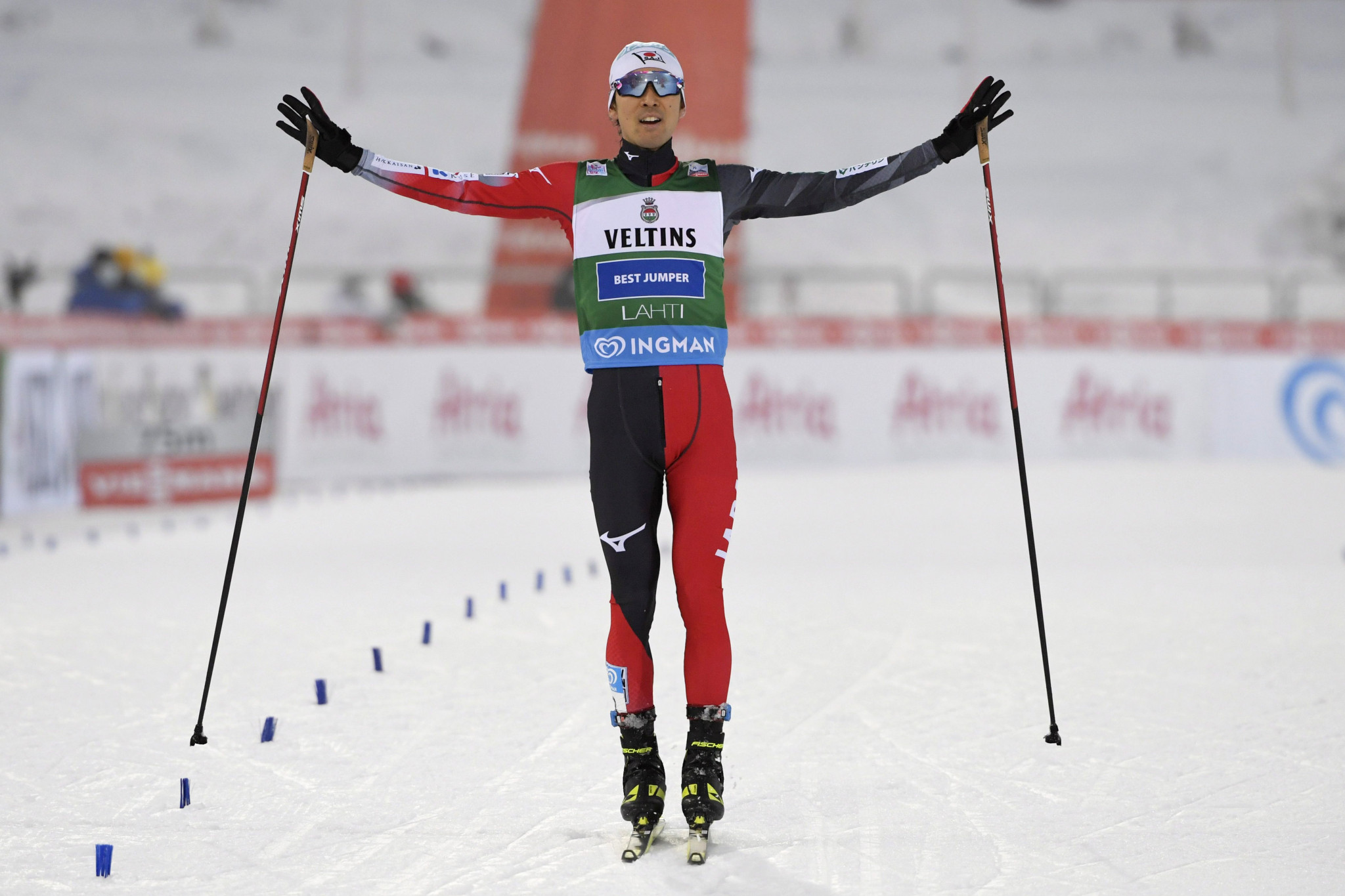 Watabe draws level with Ogiwara on 19 World Cup wins after superb showing in Lahti