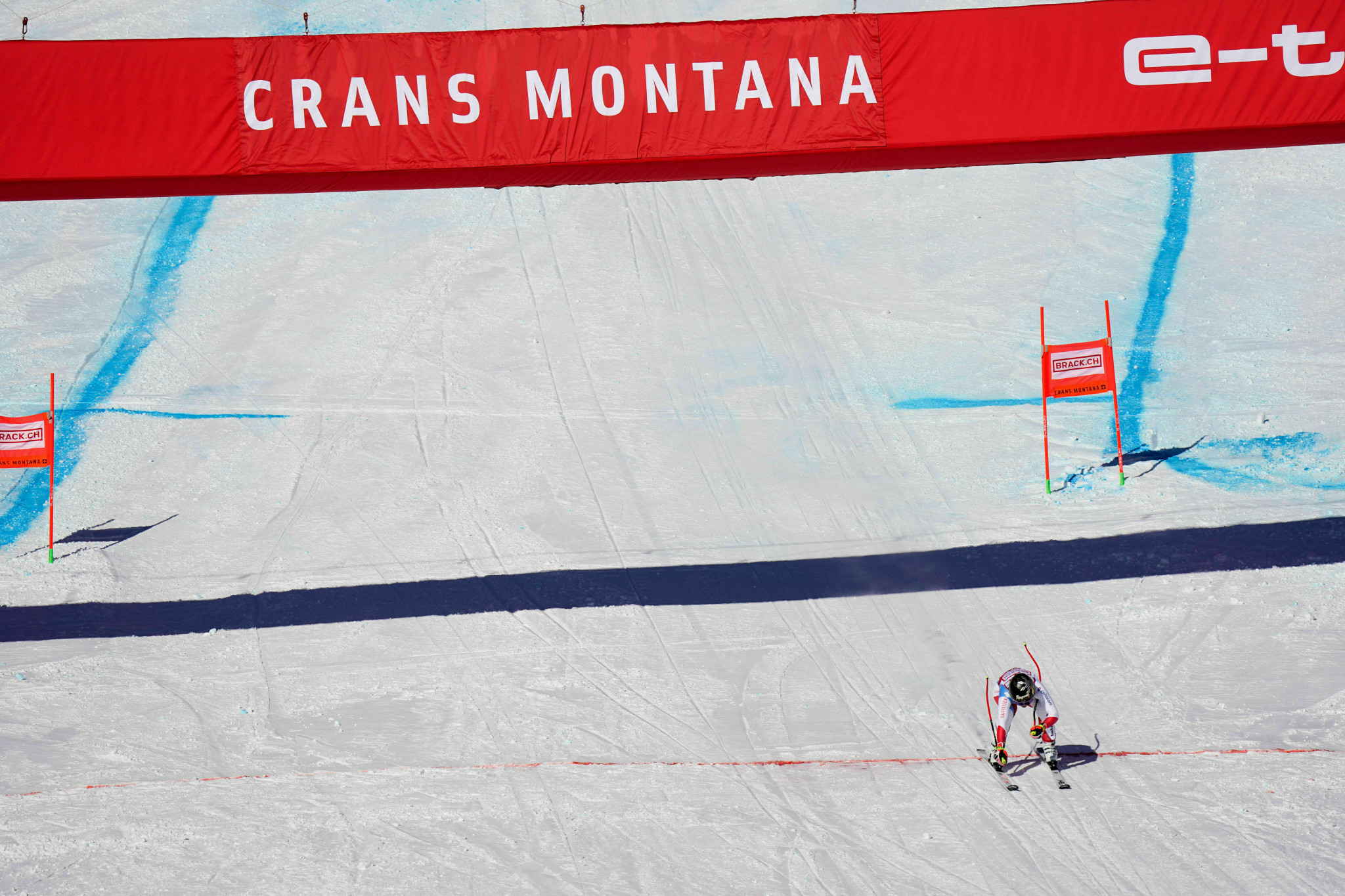 Gut-Behrami regains lead of super-G standings after win at Alpine Ski World Cup in Crans-Montana